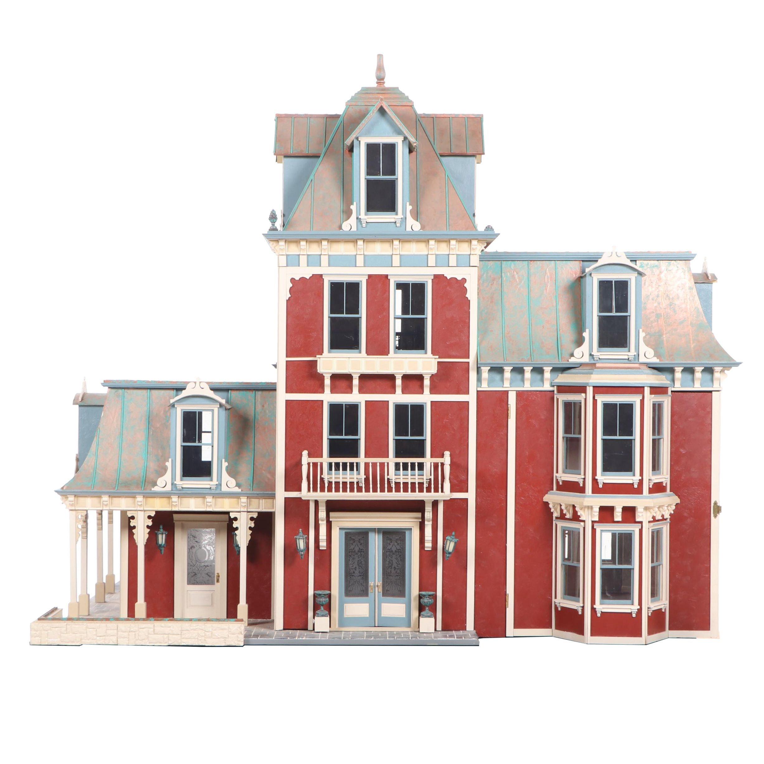 """Lawbre """"Glen Cove Villa"""" Scale Miniature Dollhouse"""
