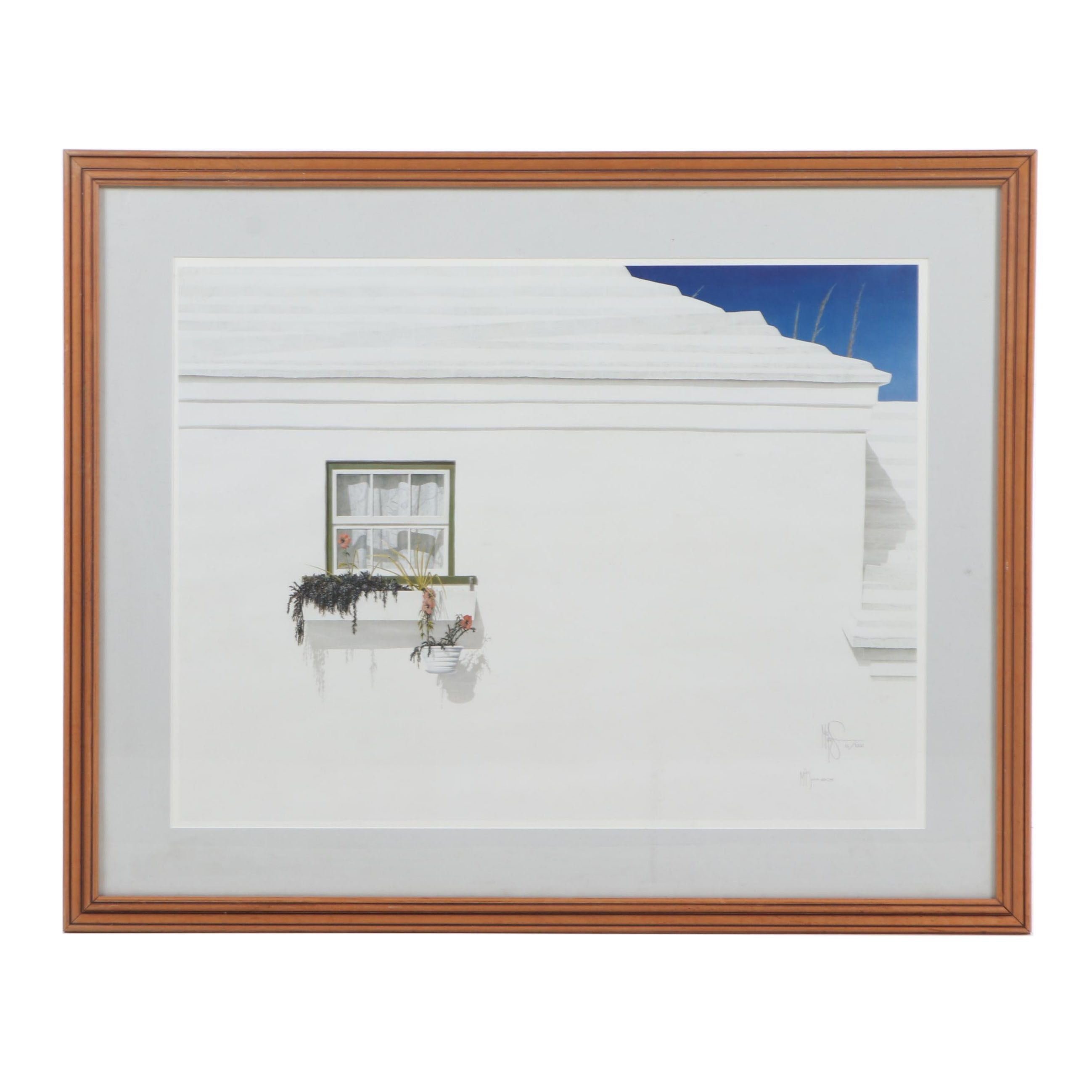 Mike Swan Offset Lithograph, 1993