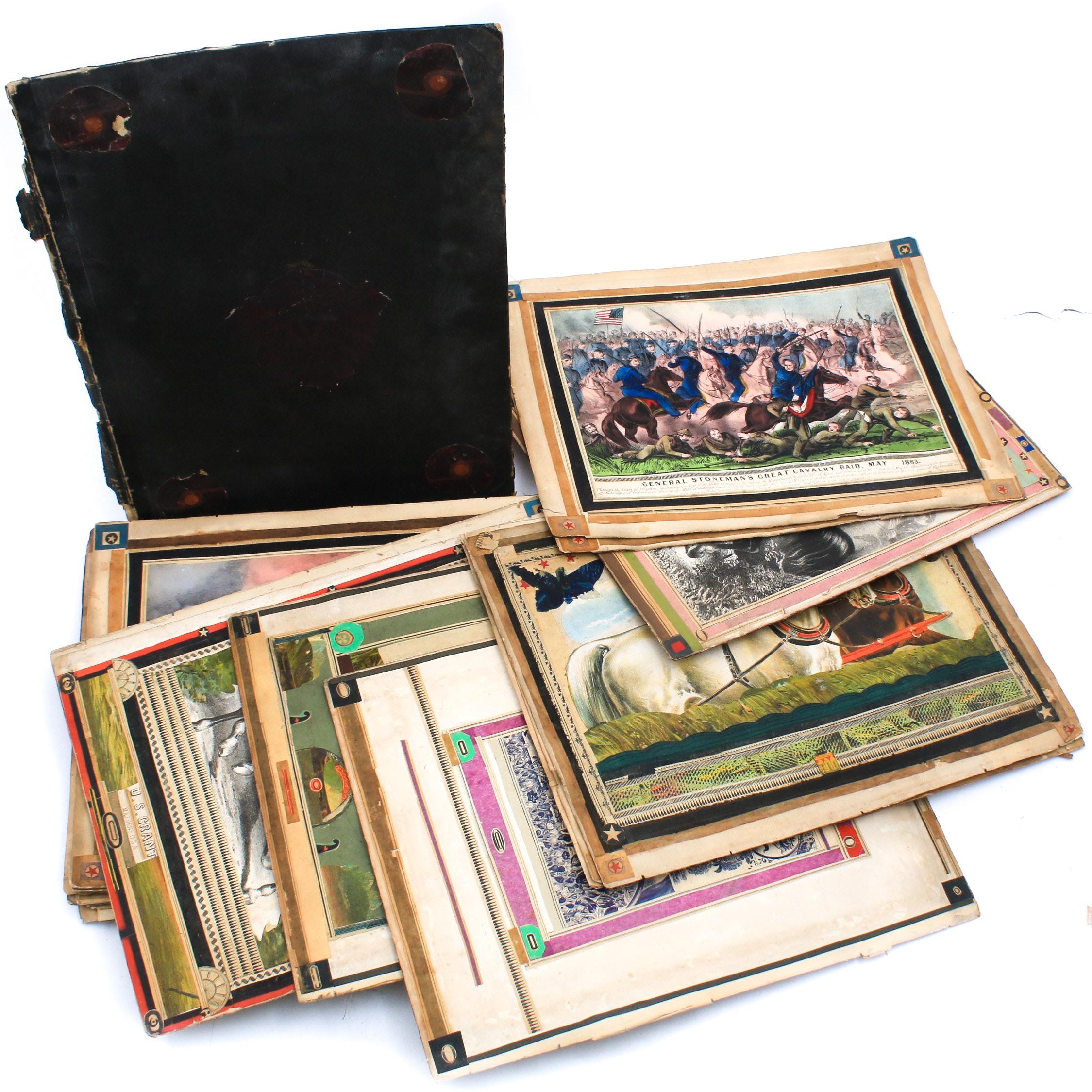 Antique Scrapbook