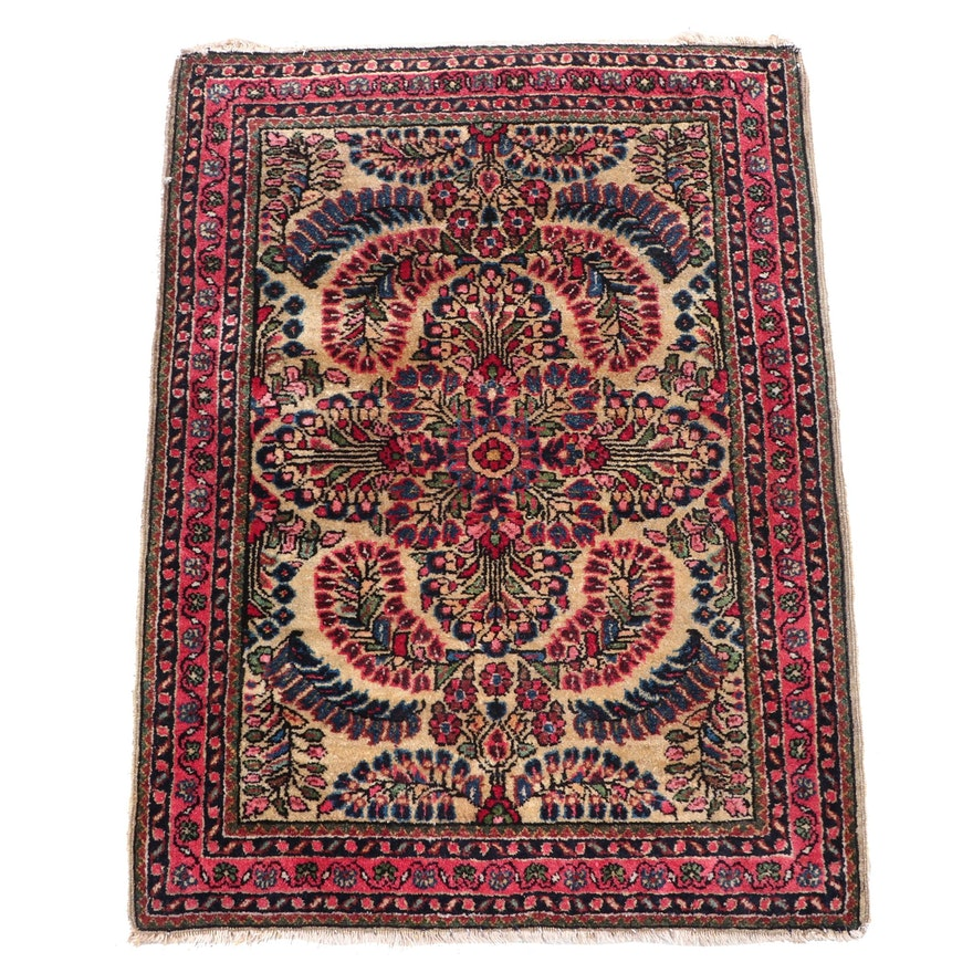 Hand-Knotted Indo-Persian Mehriban Wool Rug