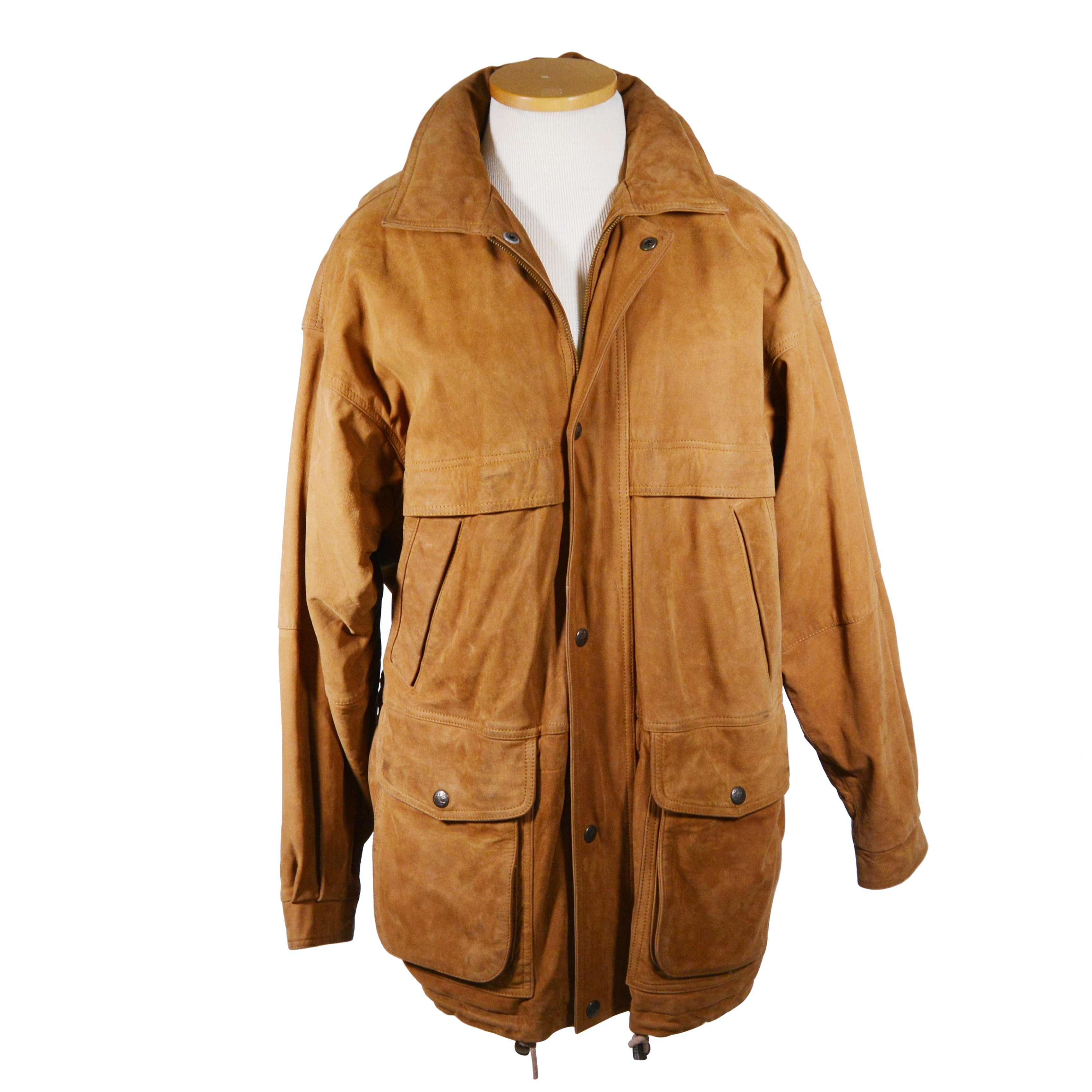 Men's Timberland Tan Leather Jacket