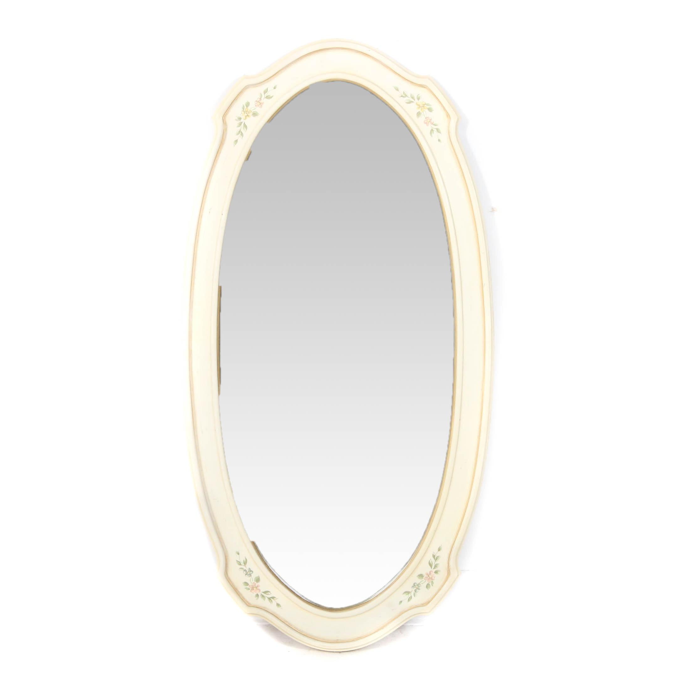 "Drexel Heritage ""Venetian"" Wood Framed Wall Mirror"