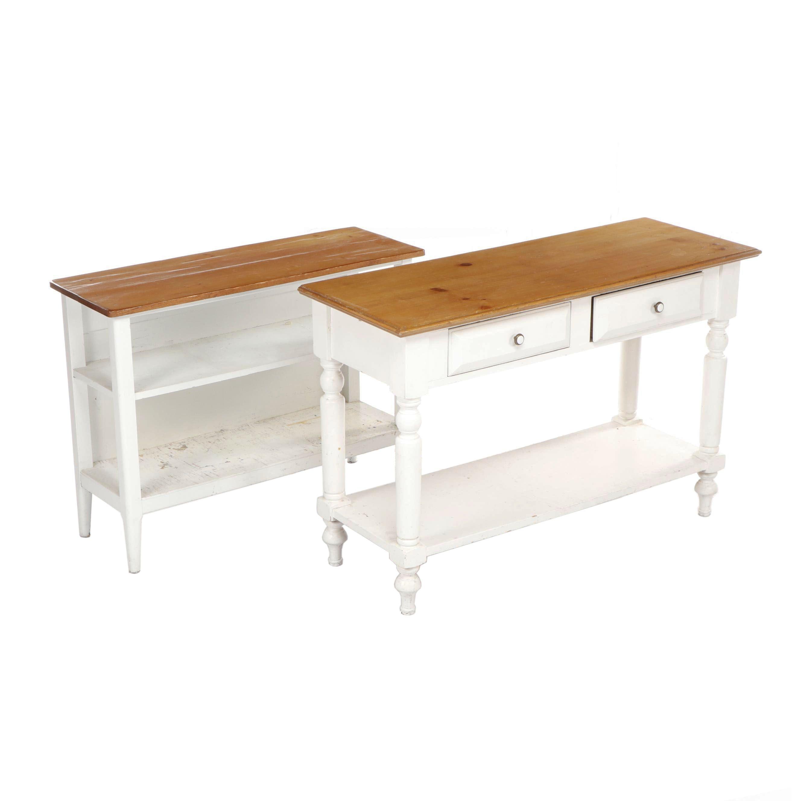 Open Home Buffet and Shelf