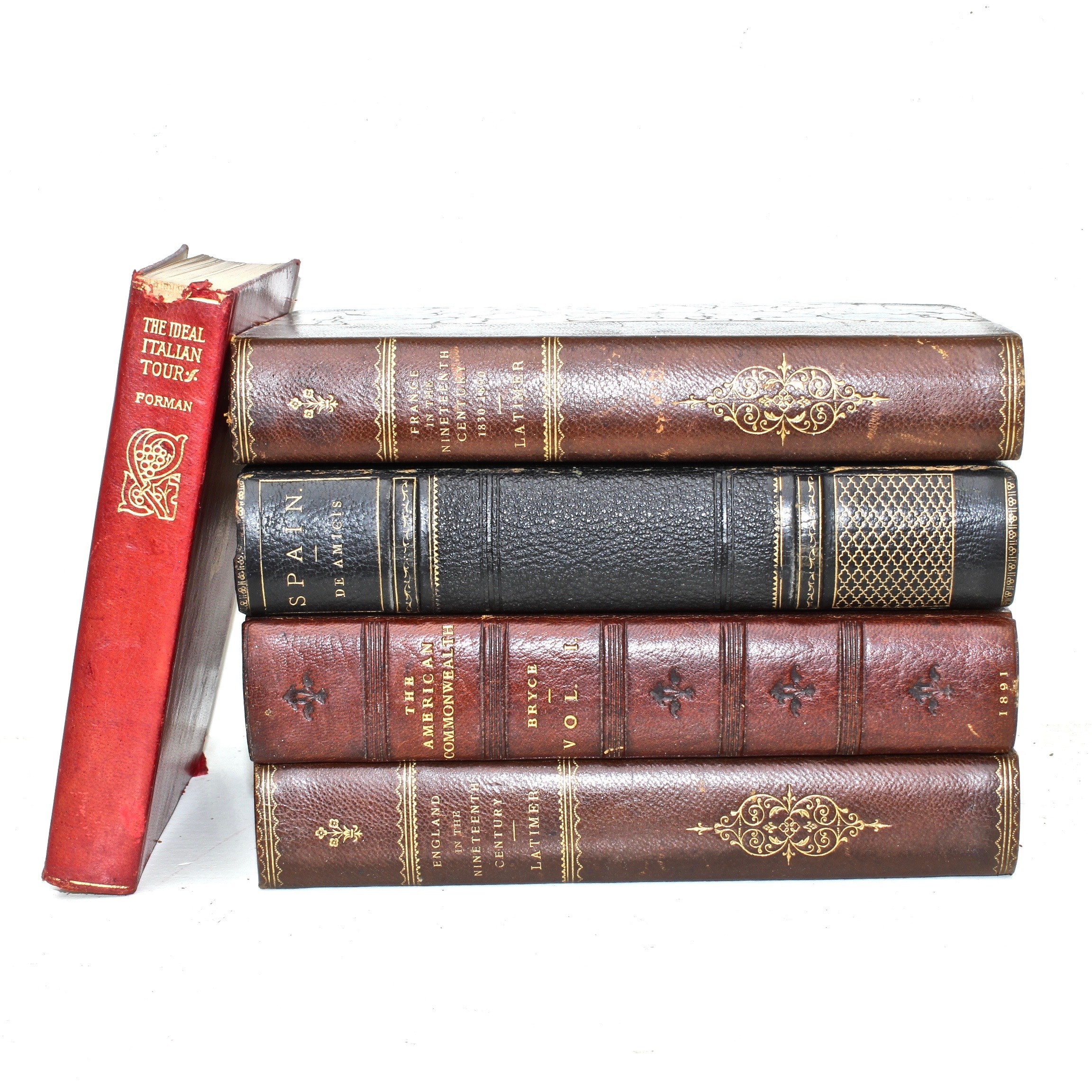 """1899 """"England in the Nineteenth Century"""" and Other Antiquarian Volumes"""