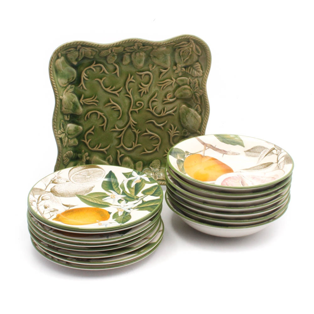 Williams-Sonoma and Hand-Painted Portuguese Tableware