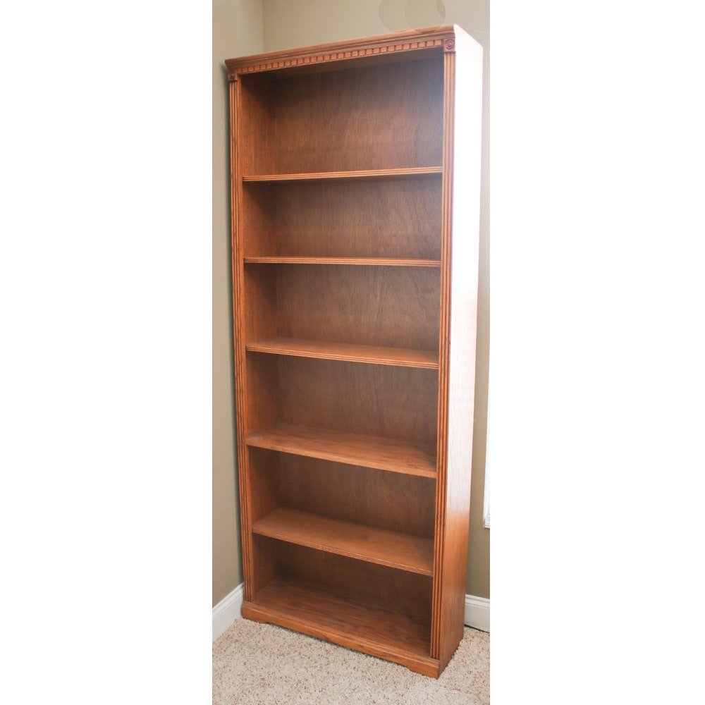 Aspen Furniture Adjustable Wood Bookcase