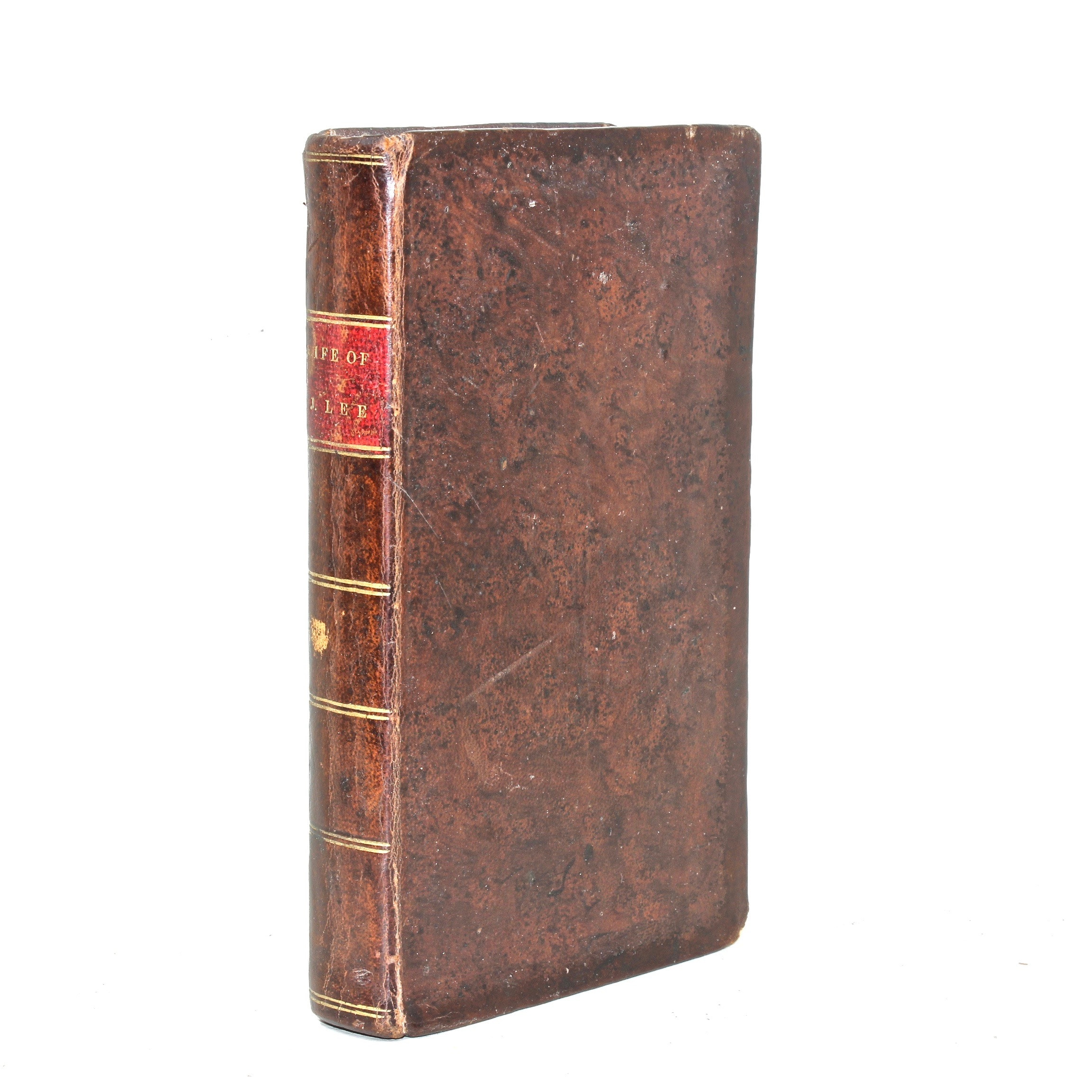 """1823 """"Memoir of the Rev. Jesse Lee"""" by Minton Thrift, First Edition"""