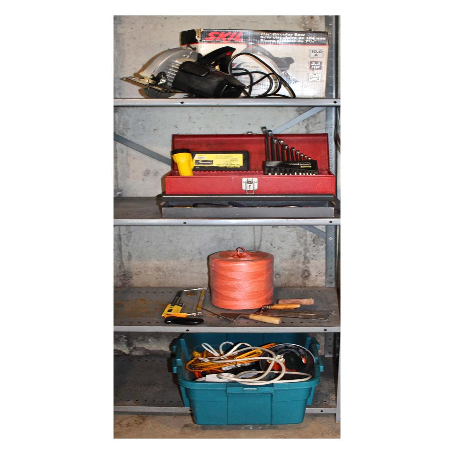 Collection of Hand Tools Including Skil Circular Saw