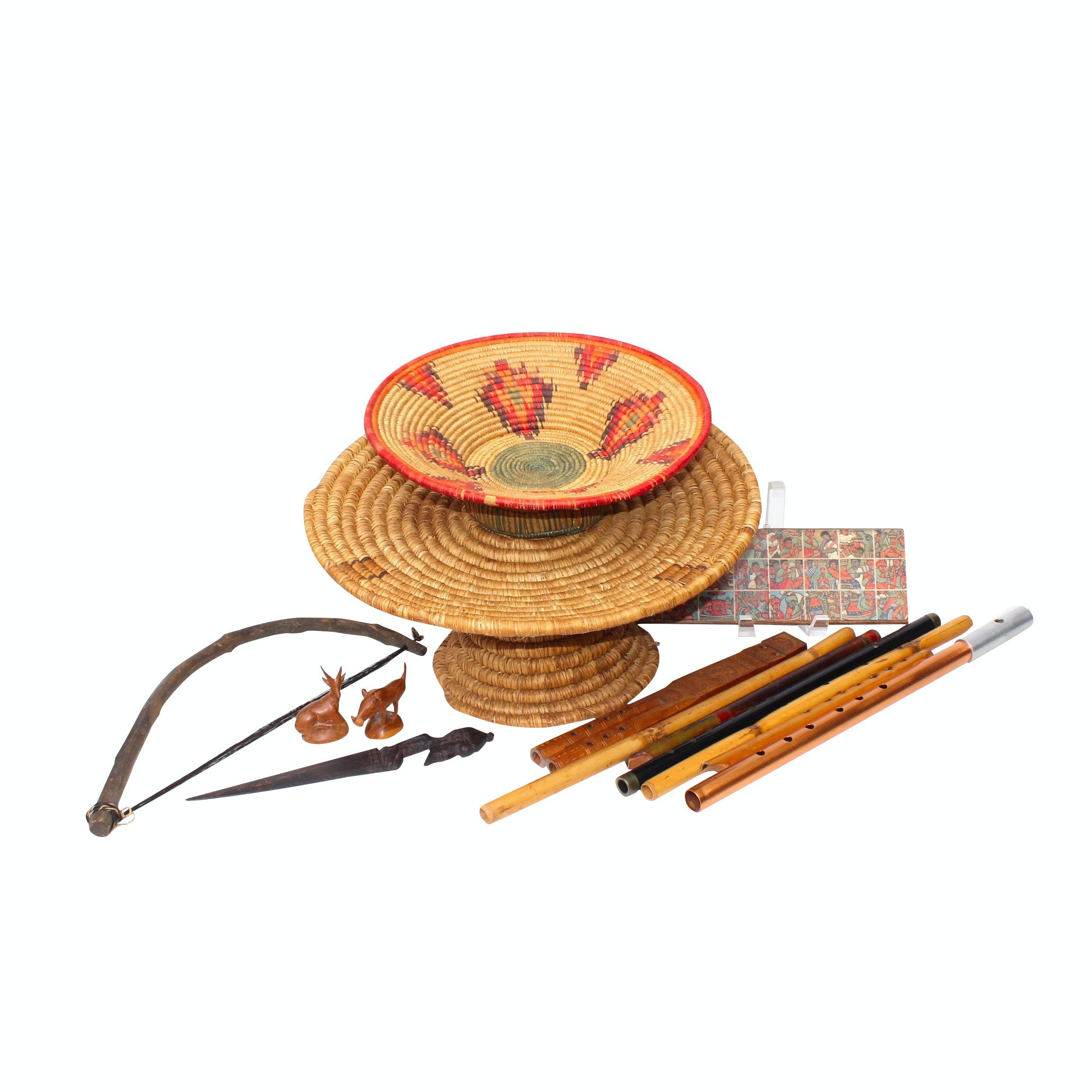 Ethiopian Flutes and Other Artisan Decor
