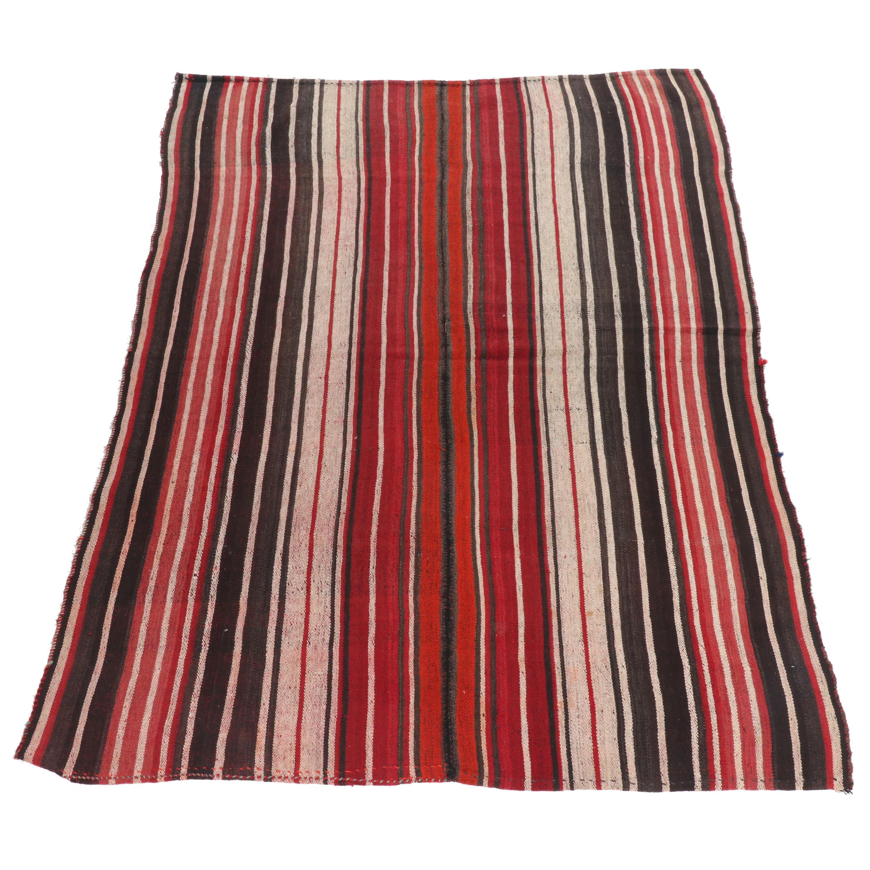 Handwoven Persian Kilim Wool Area Rug