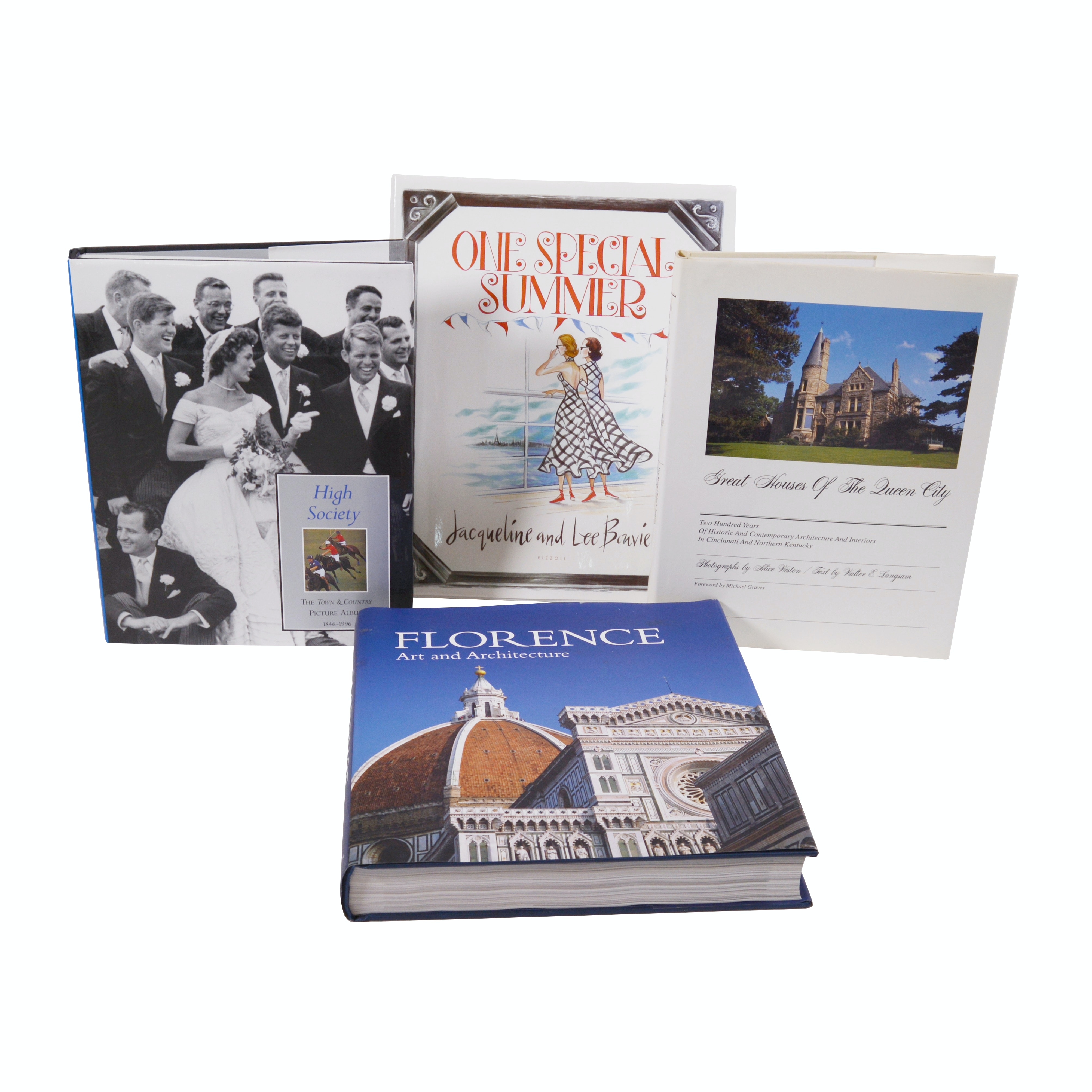 """Great Houses of the Queen City"" and Other Coffee Table Books"