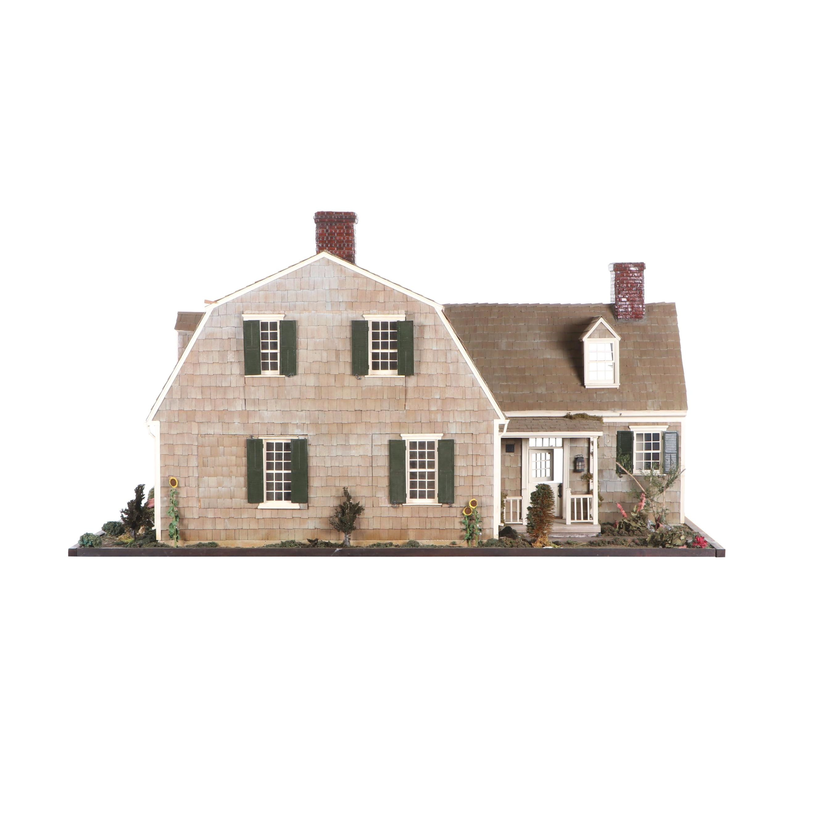 """Pam Throop """"Cranberry Cove"""" Scale Dollhouse Miniature"""