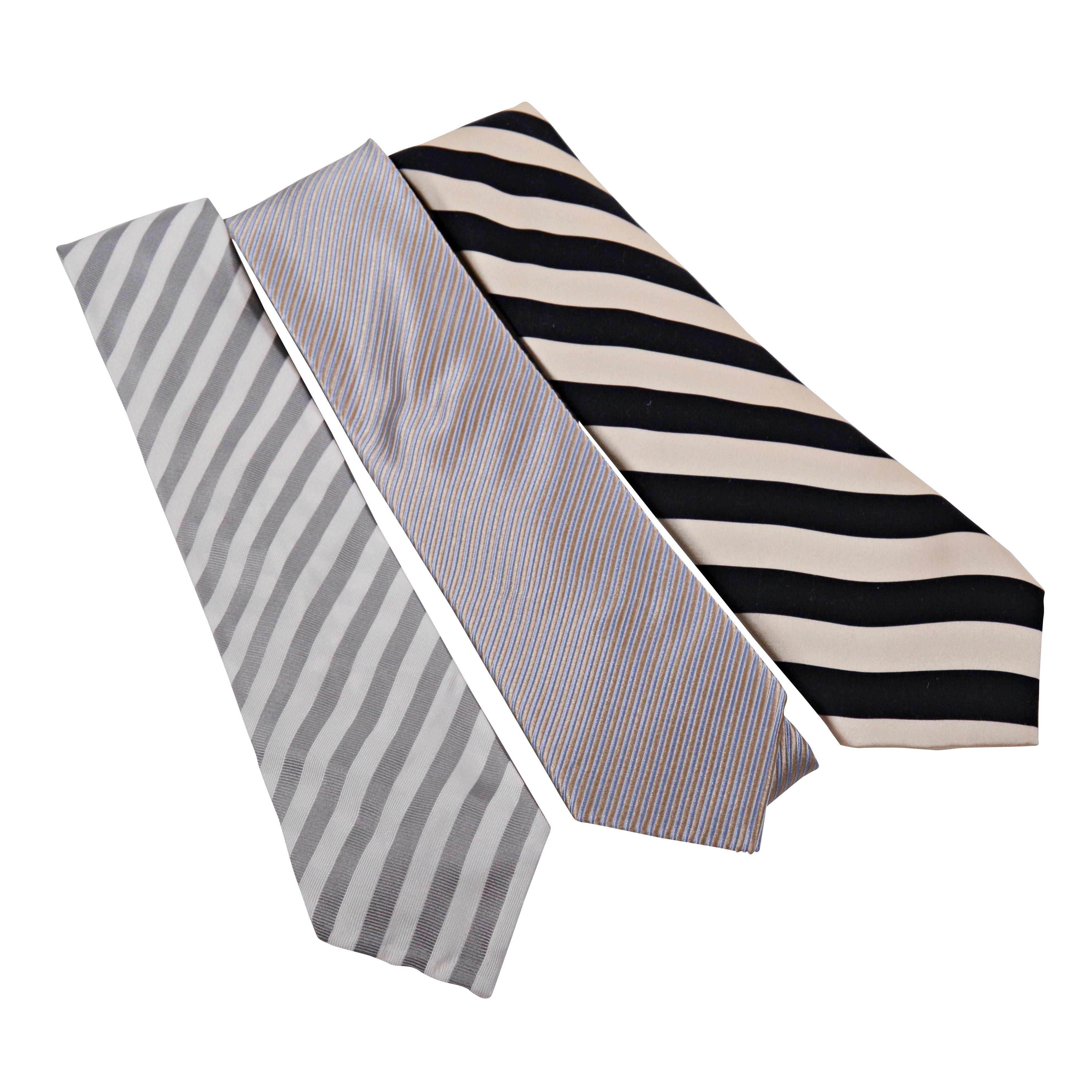 Men's Alan New York Silk and Cashmere Neckties