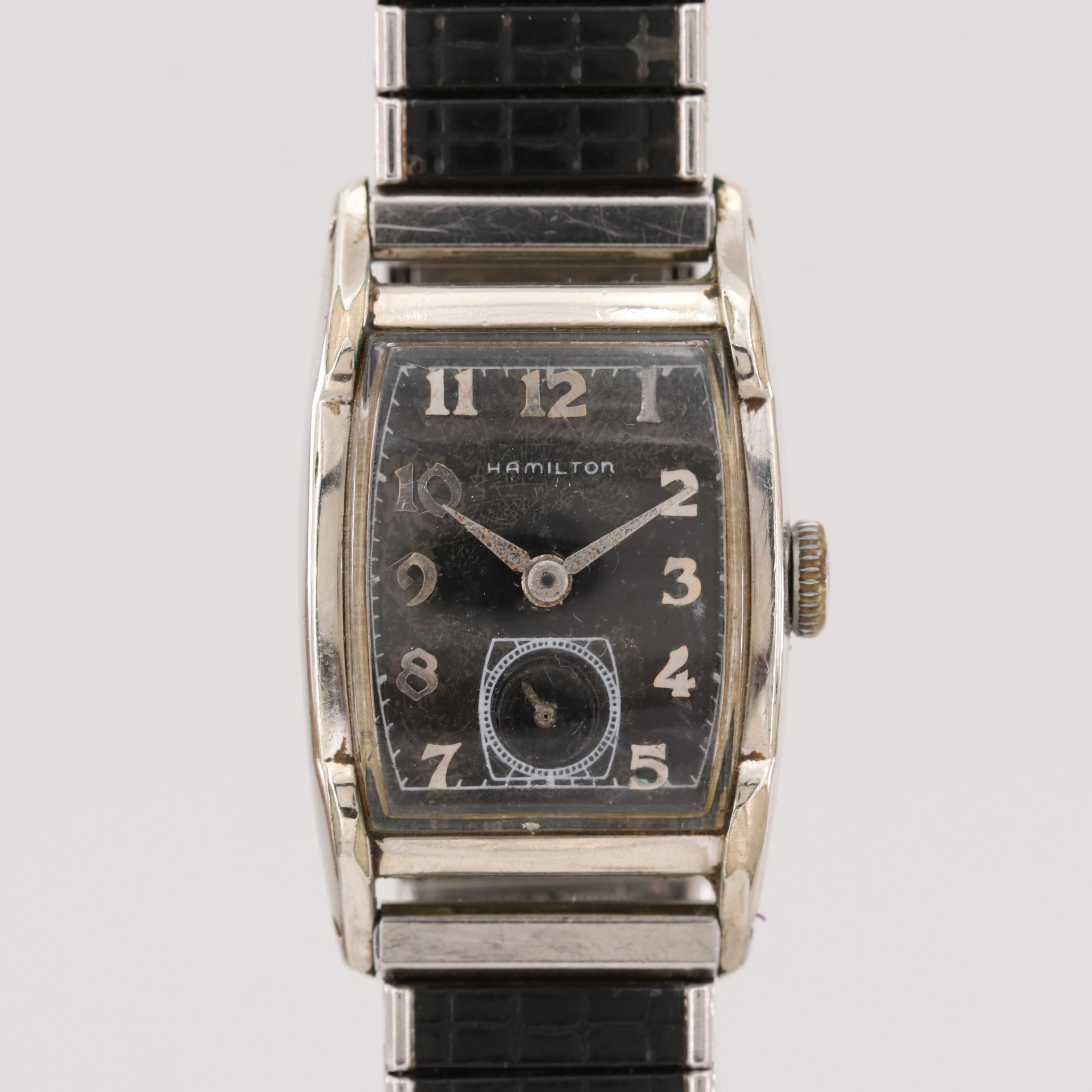 Hamilton 10K Gold Filled Wristwatch, 1952