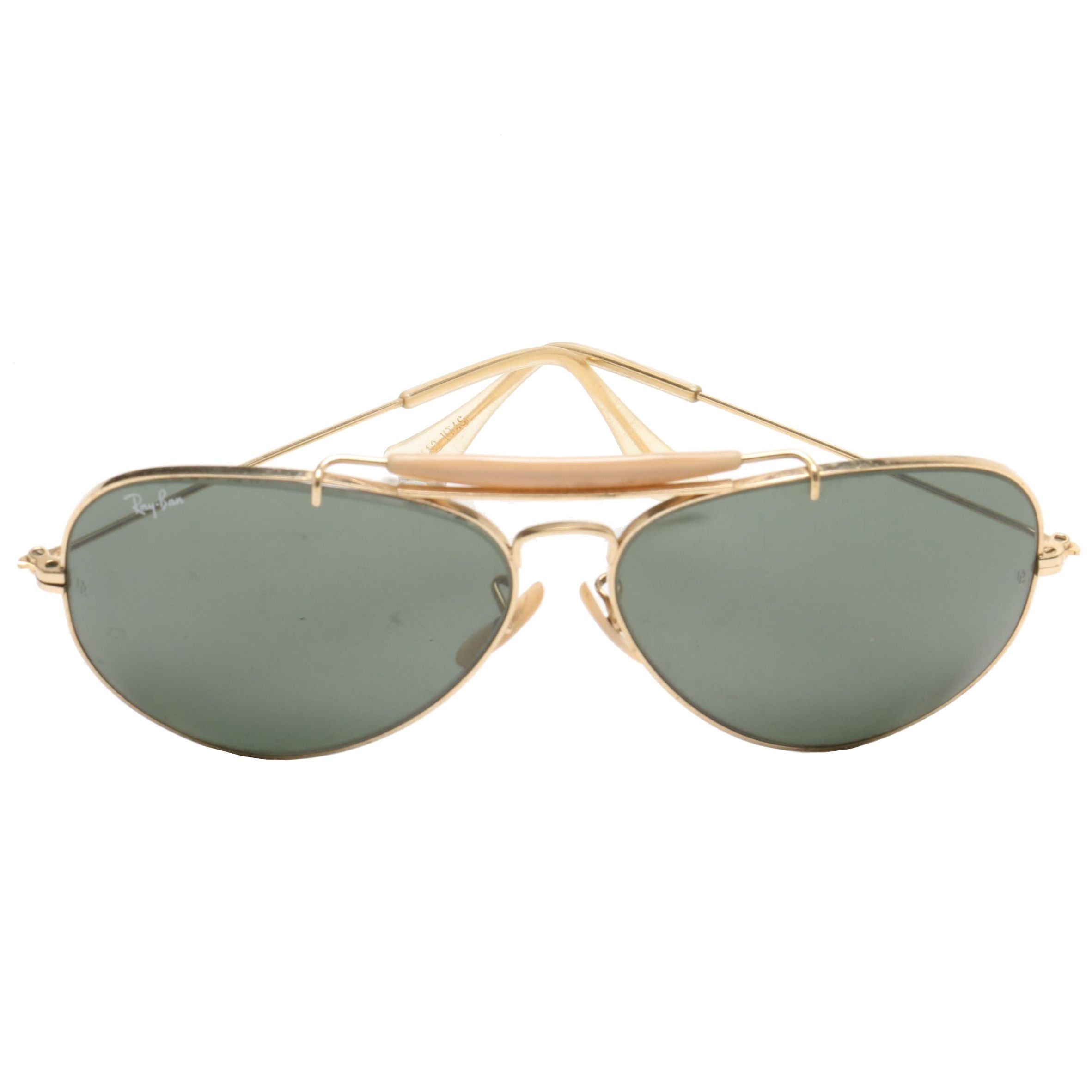 Ray-Ban Bausch & Lomb Aviator Sunglasses, Vintage
