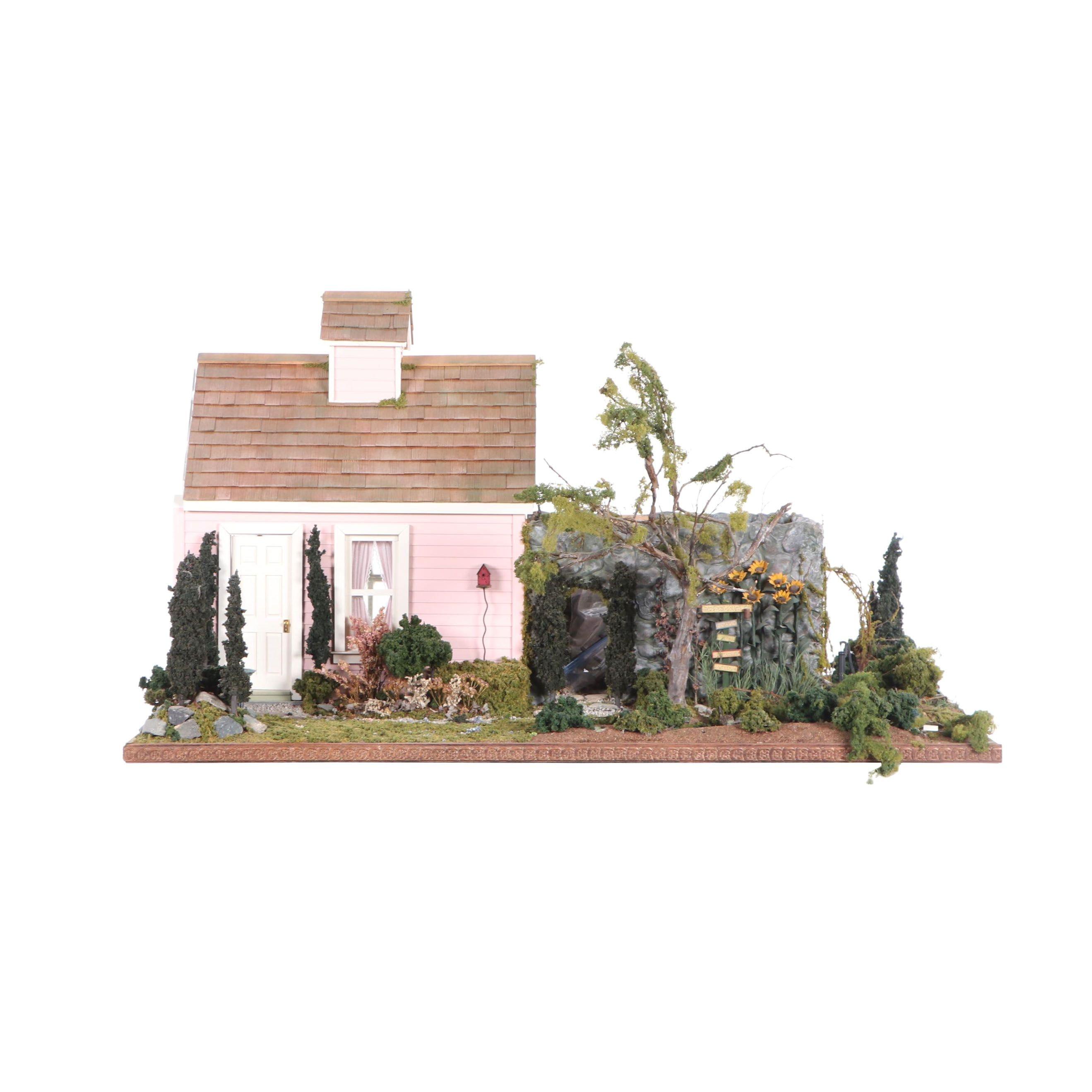 "Robin and Shaun Betterley ""The Secret Garden"" Dollhouse"