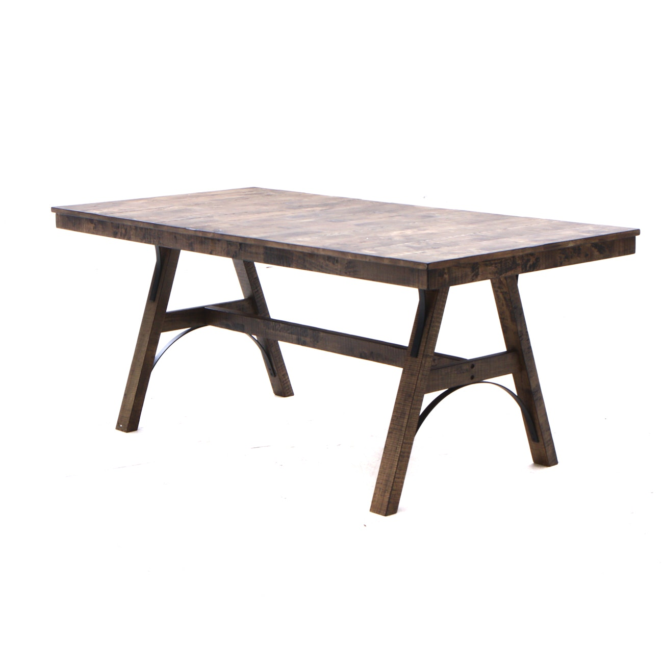 Contemporary Arts and Crafts Style Dining Table
