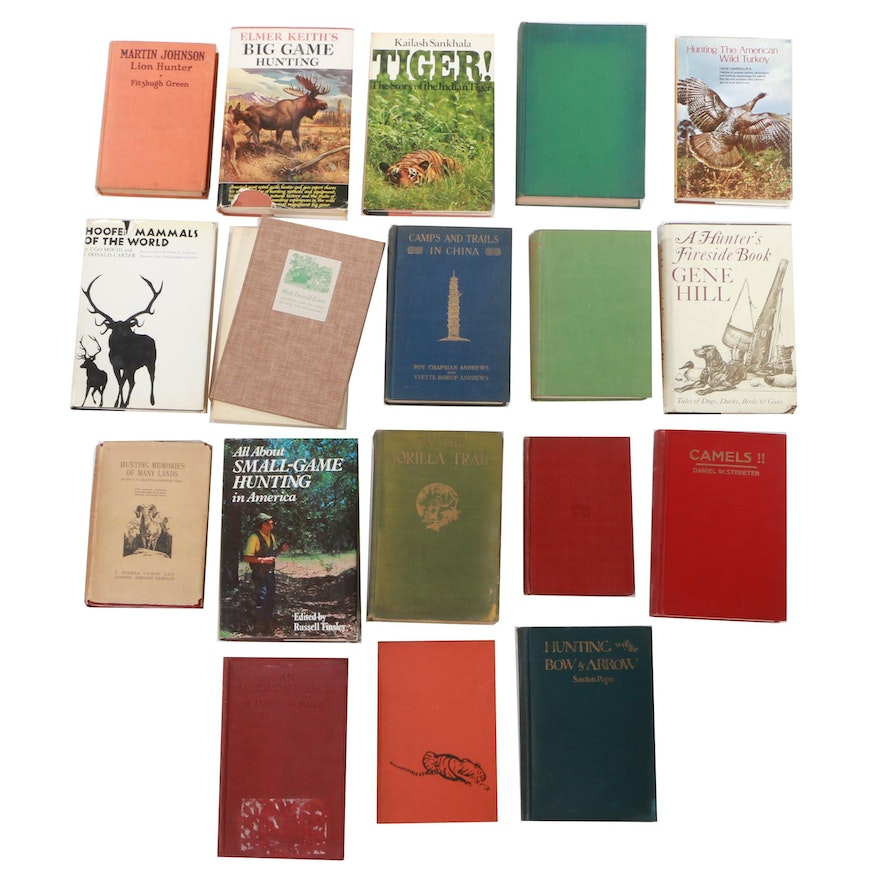 Nonfiction Waterfowl and Big and Small Game Hunting Books