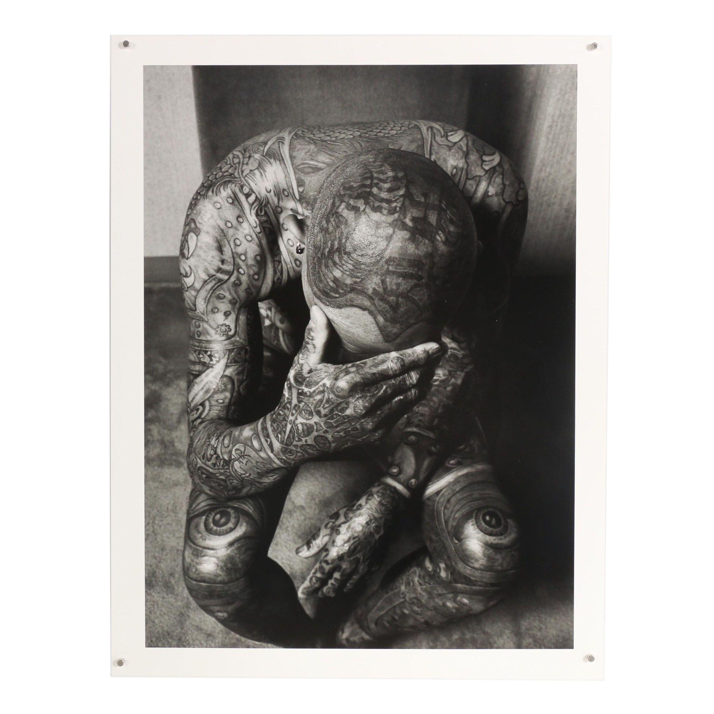 """John Wyatt Archival Inkjet Print """"David, Retired Gardening Supervisor"""""""