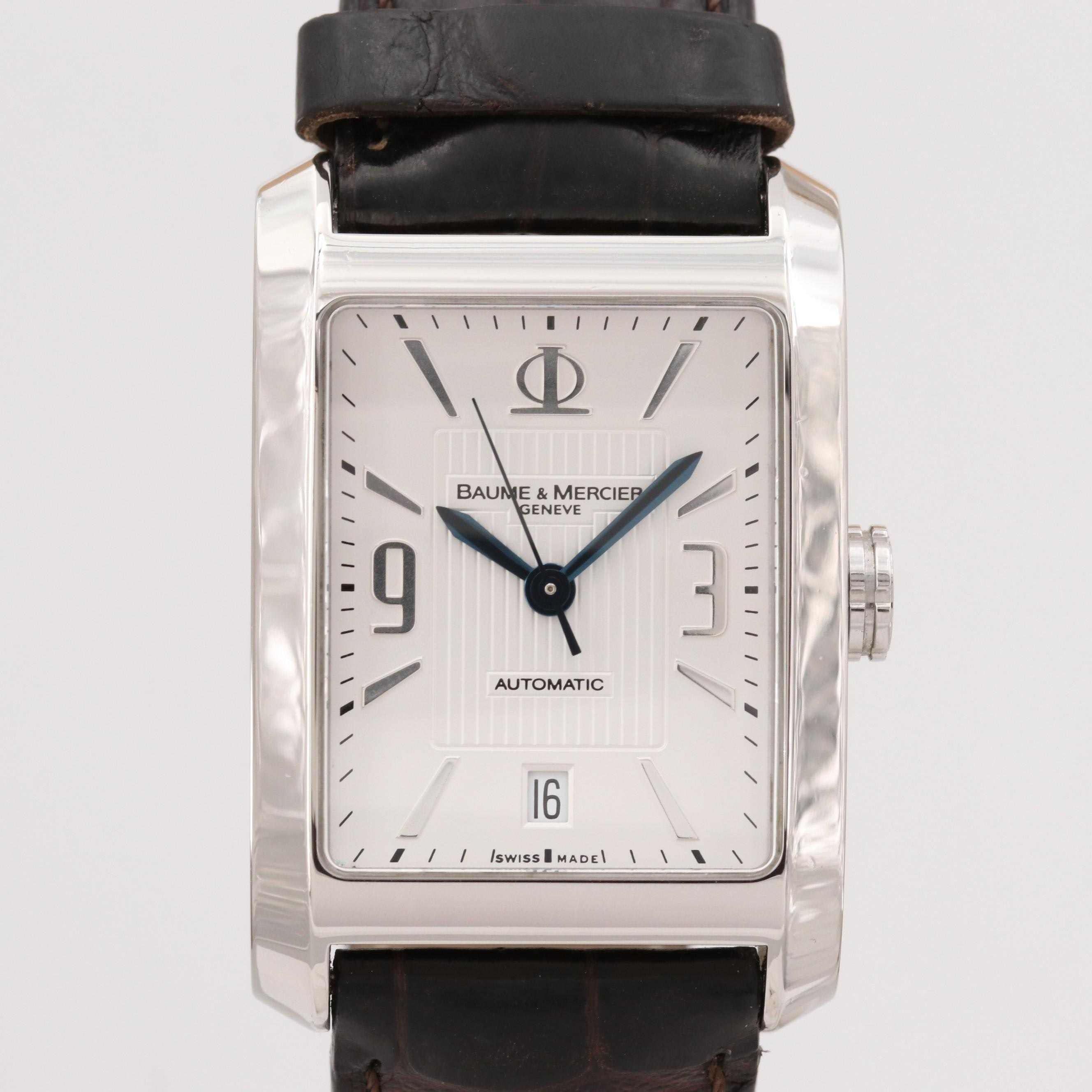 Baume & Mercier Hampton Stainless Steel Automatic Wristwatches