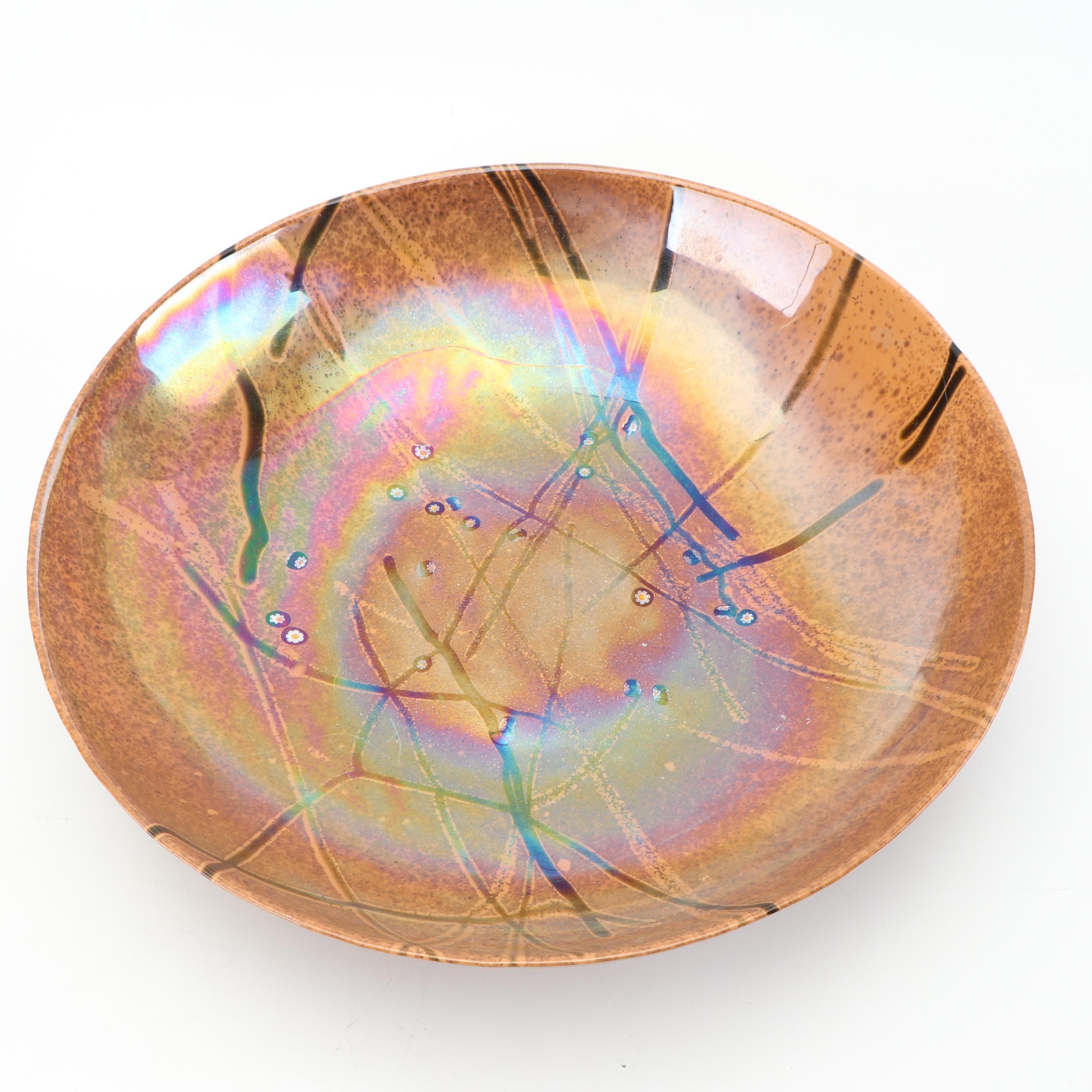 Art Pottery Centerpiece Bowl