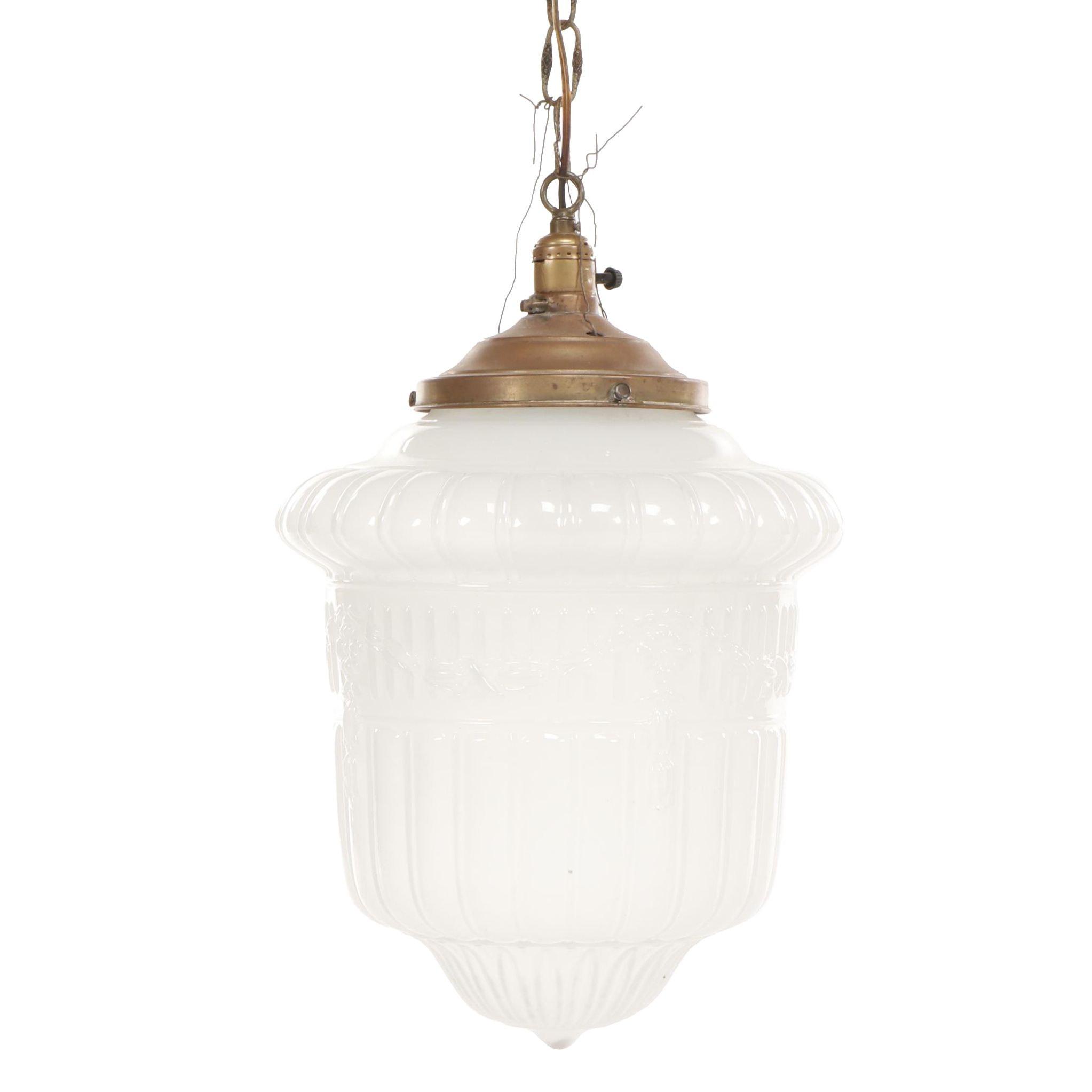 Eagle Glass Pendant Light Fixture