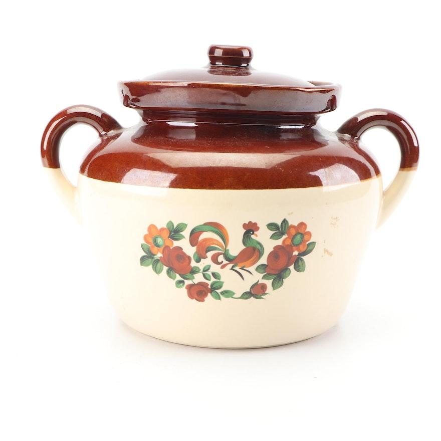McCoy Pottery Bean Pot, 1970s
