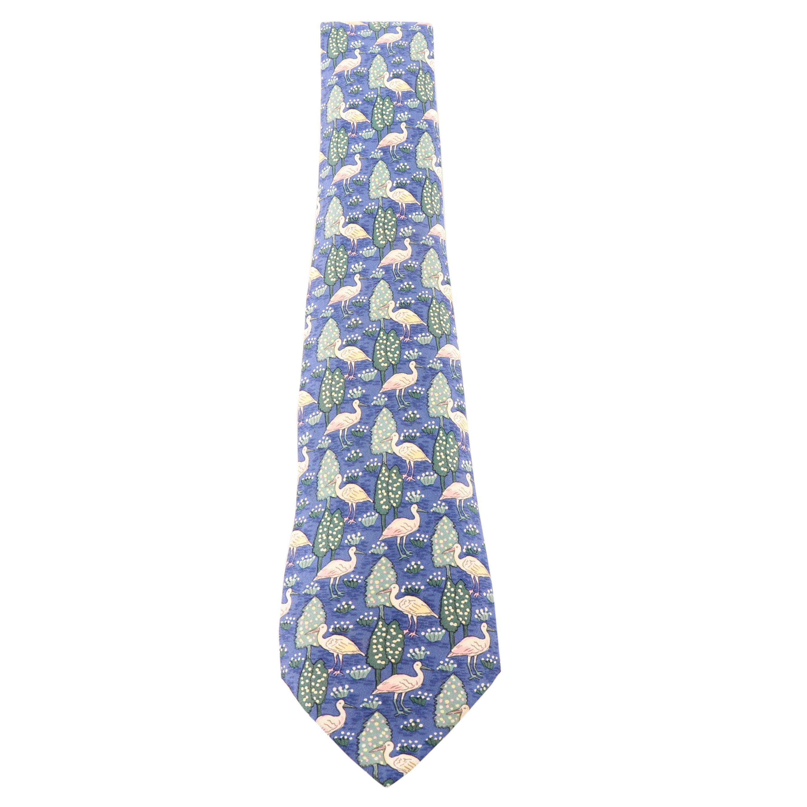 Hermès Paris 7361 PA Silk Necktie