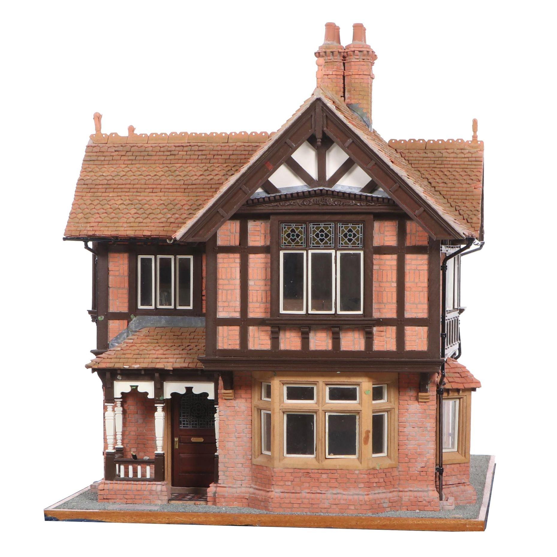 John McColgan Miniature after The Grove Lodge Craven Arms, Shropshire, 1992