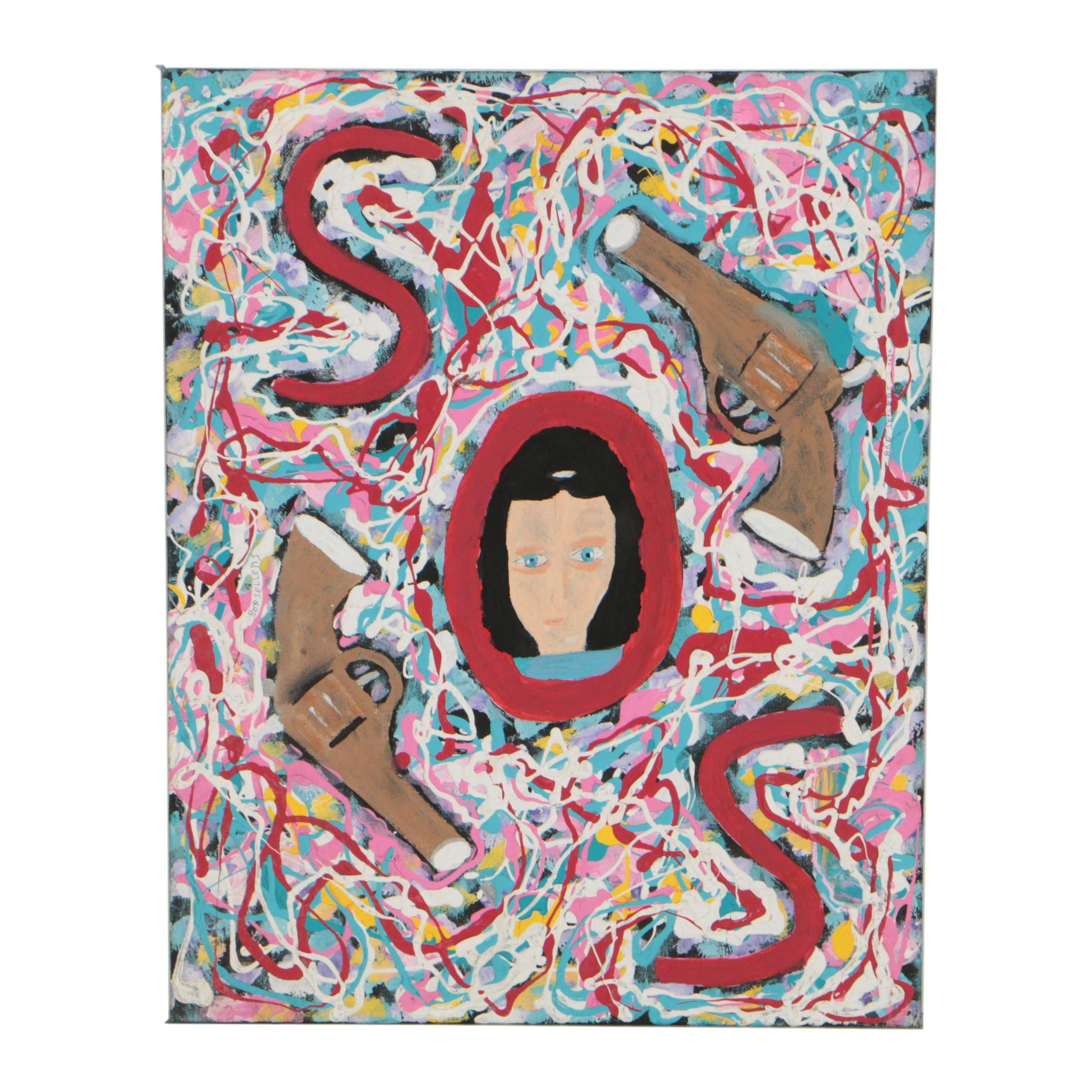 Robert Sellers Acrylic Painting