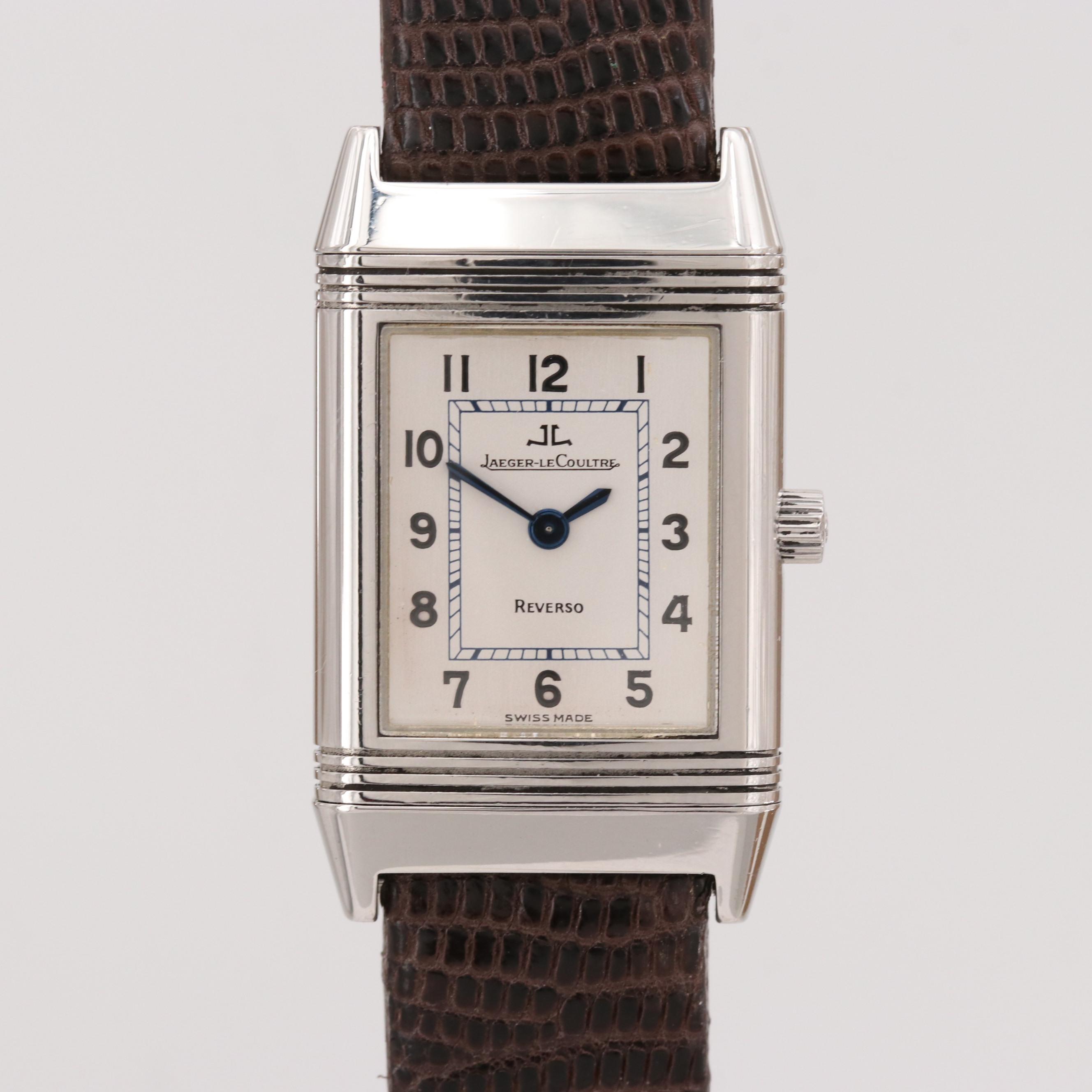 Jaeger-LeCoultre Reverso Stainless Steel Quartz Wristwatch