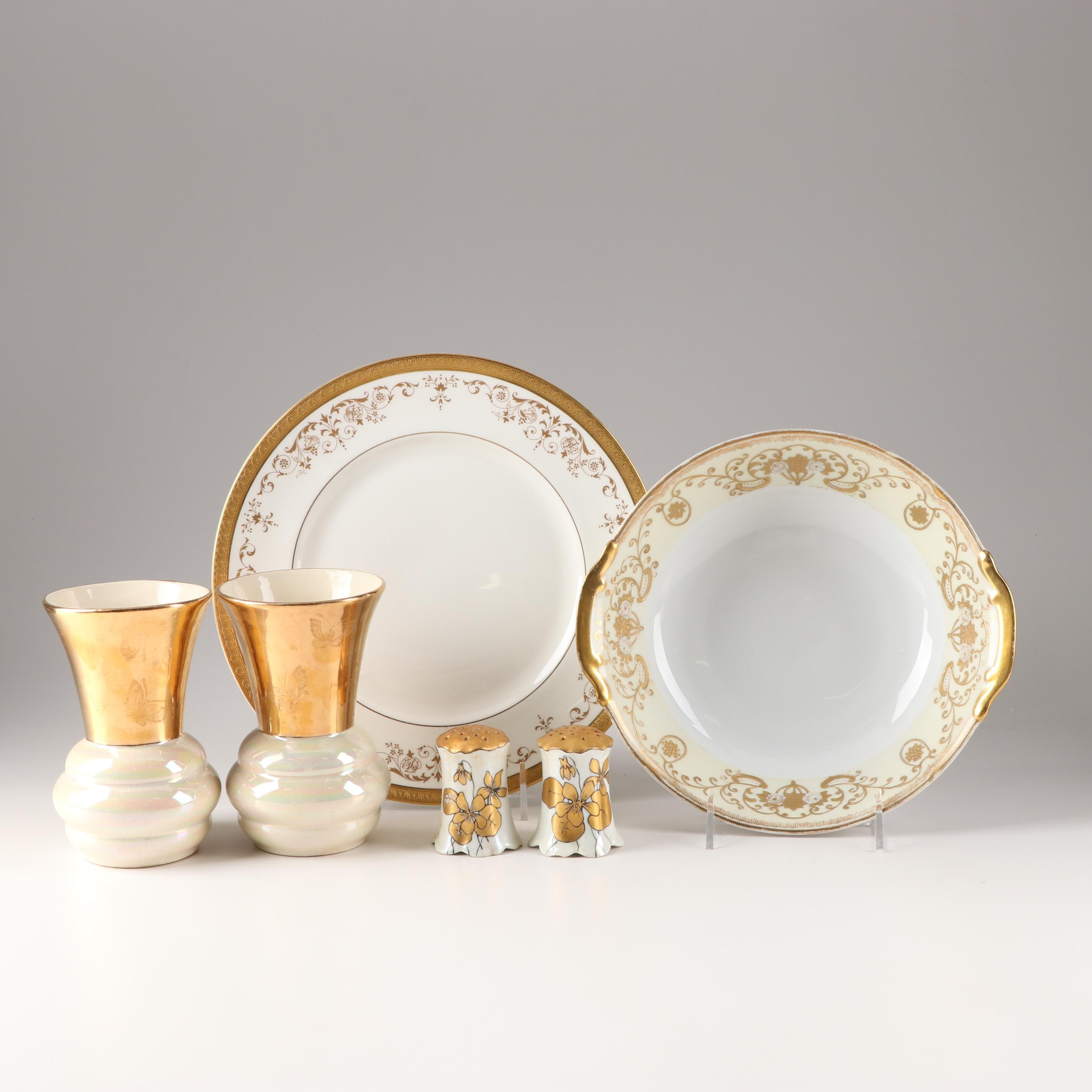 Decorative Tableware Featuring Royal Doulton, Early 20th Century
