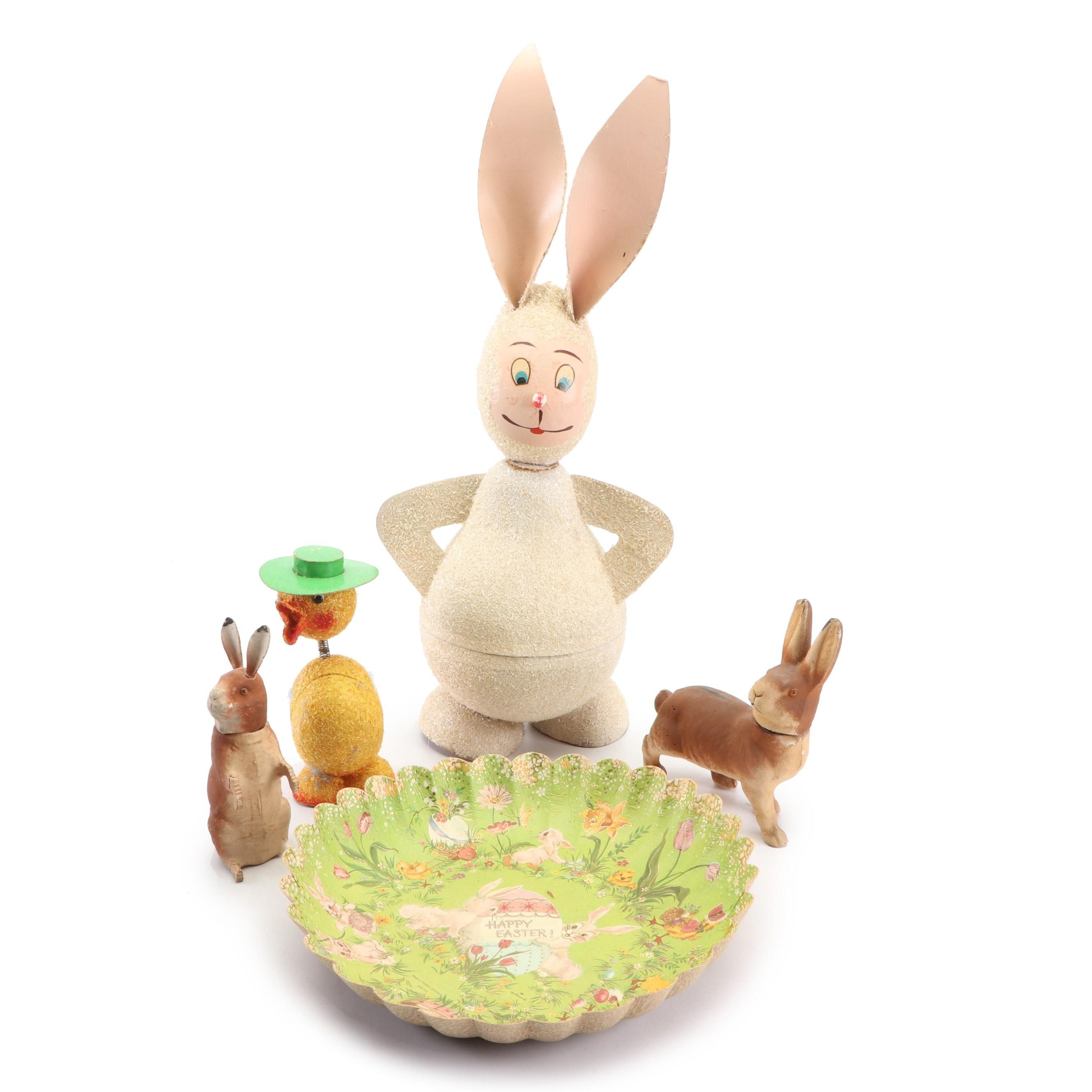 Vintage German Easter Decorations