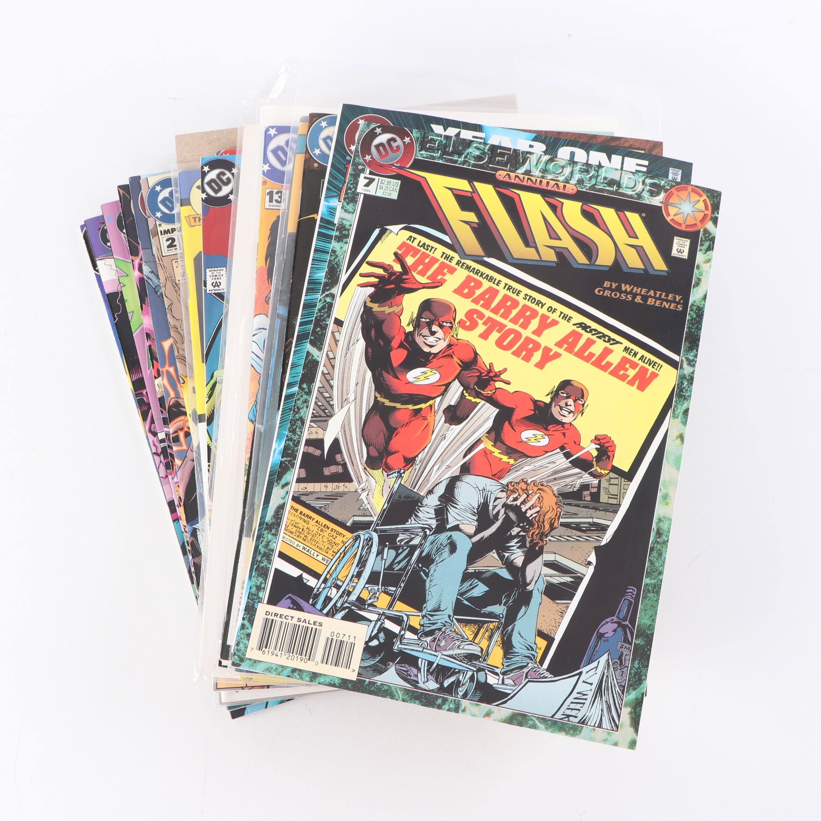 "Modern Age ""Flash"" Comic Books"