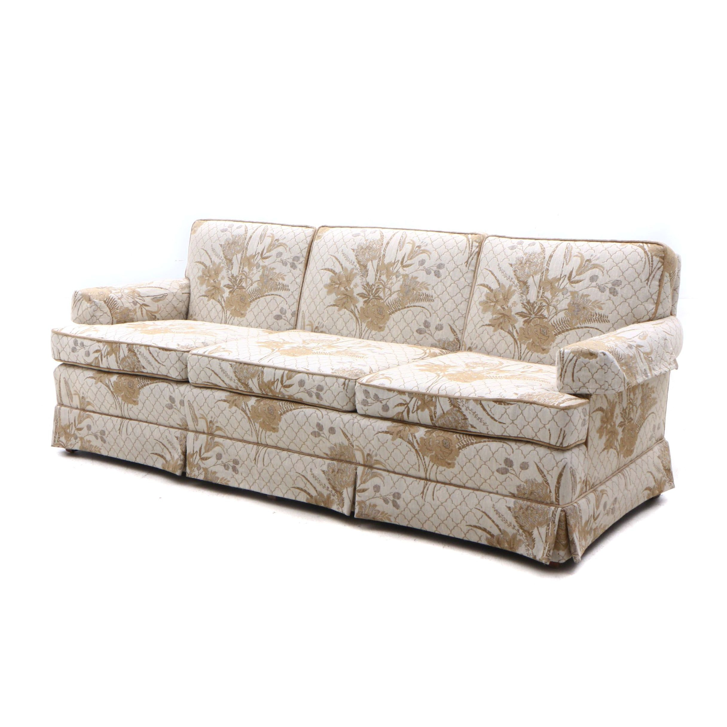 Upholstered Sofa by Highland House of Hickory, Mid 20th Century