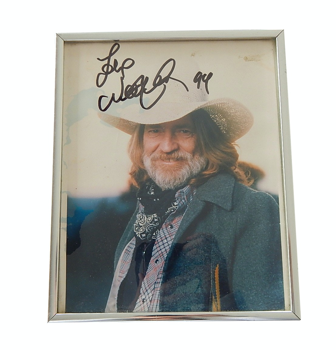 Willie Nelson Signed Photograph