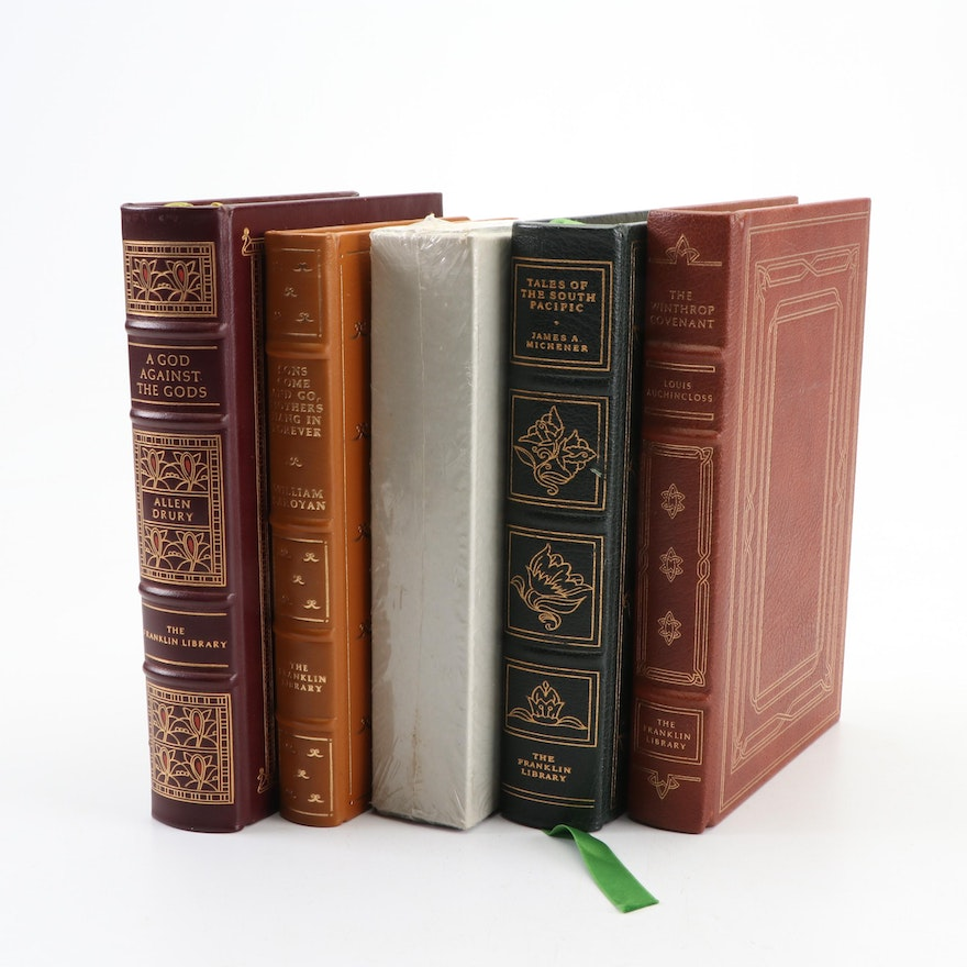 """Franklin Library Leather Bound Books and Rizzoli """"Art of the Christian World"""""""