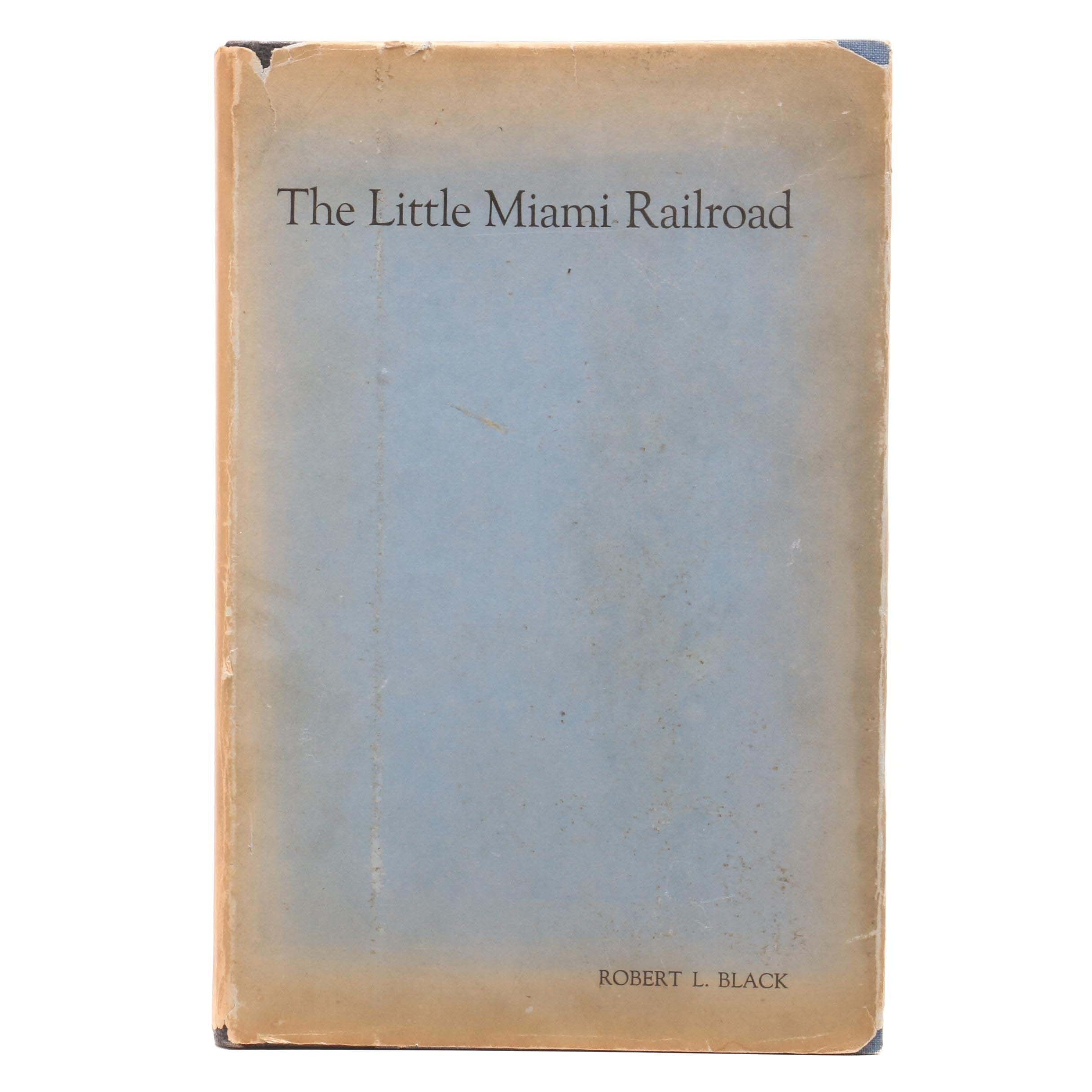 """""""The Little Miami Railroad"""" by Robert Black with Enclosed Letter"""