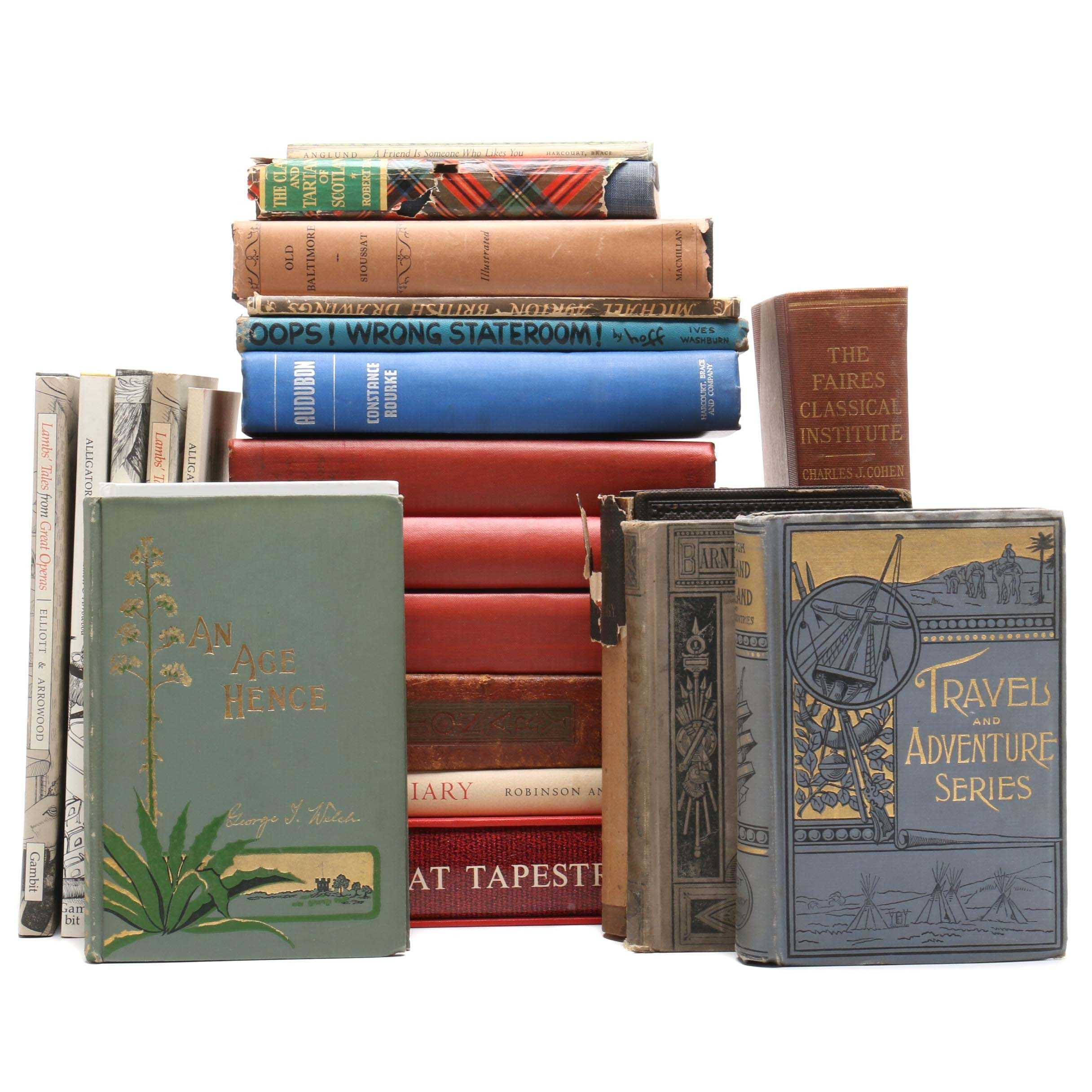 Antique and Vintage Nonfiction Books including First Editions