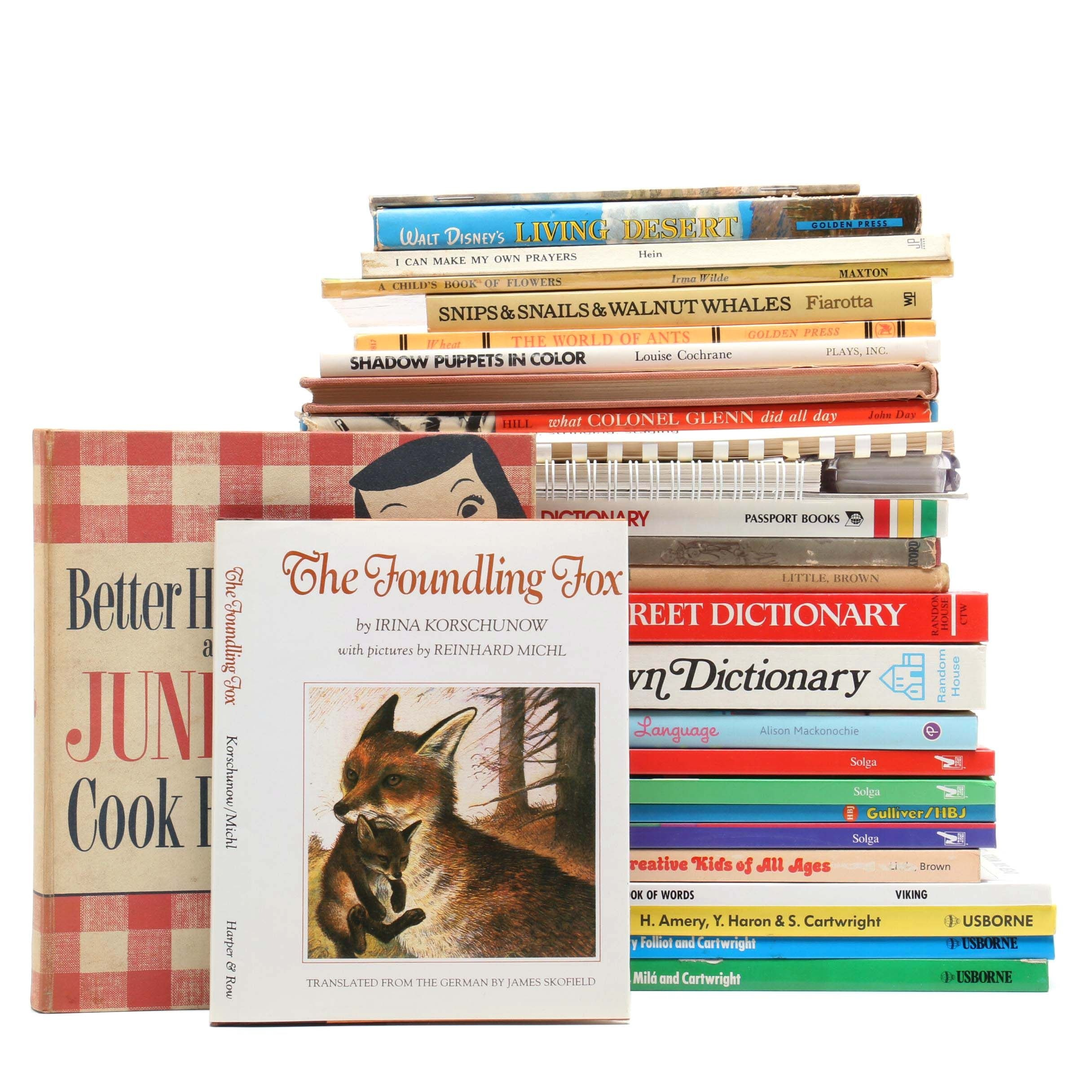 Children's Nonfiction Book Selection, Vintage to Contemporary