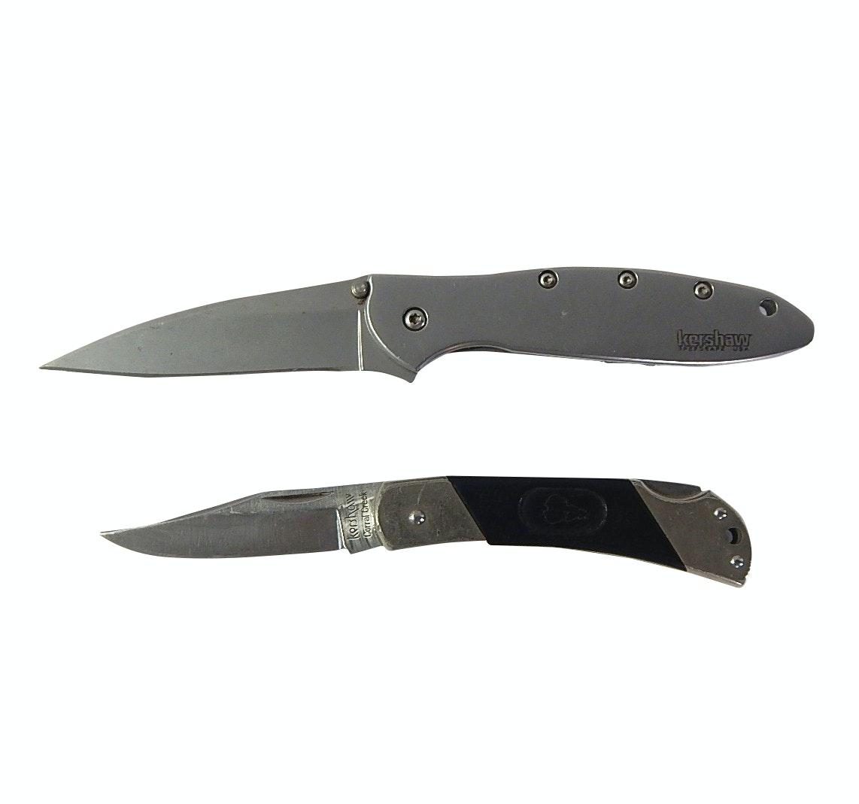 Two Kershaw Folding Knives - 1660, 3115