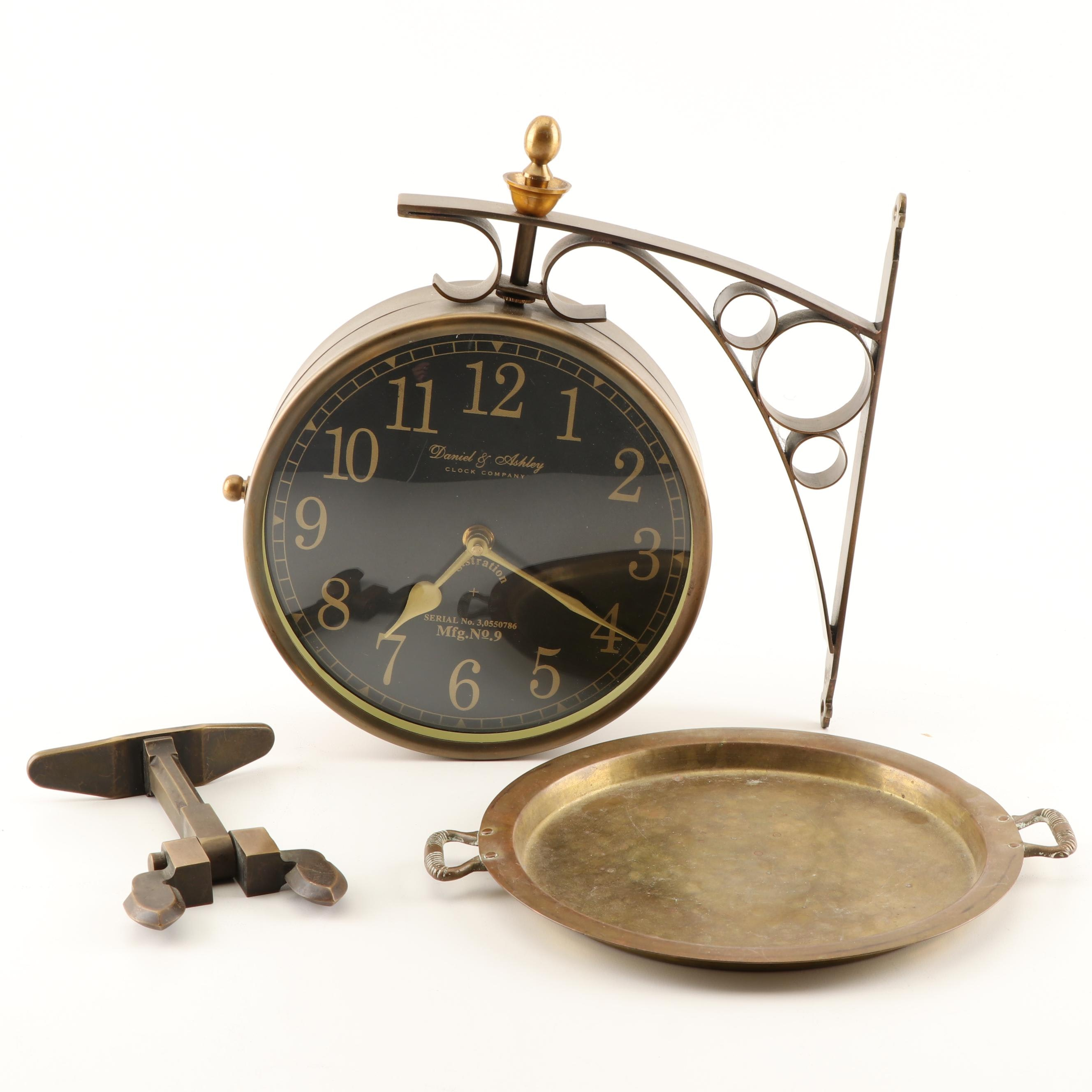 Daniel & Ashley Wall Clock and Decor