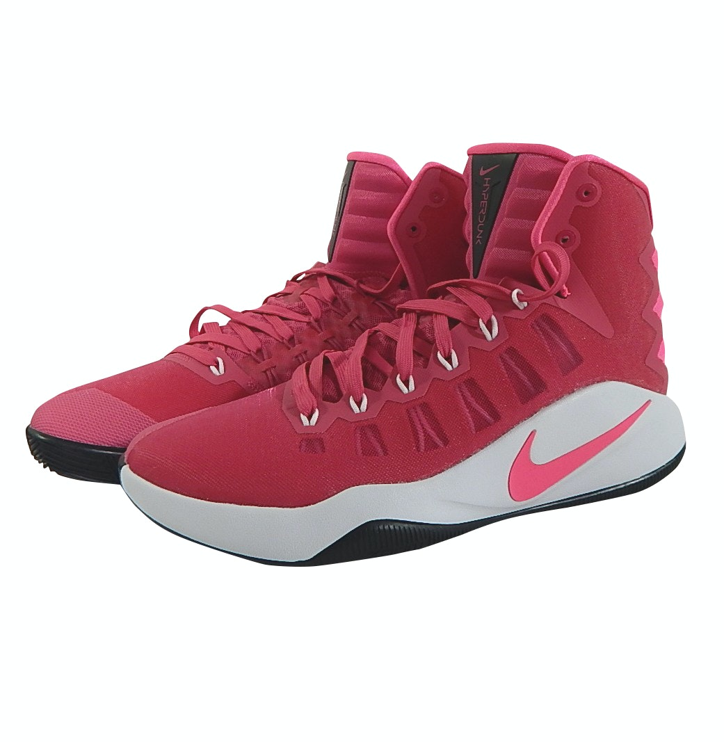 Men's Nike Zoom Hyperdunk Breast Cancer Pink Basketball Shoes