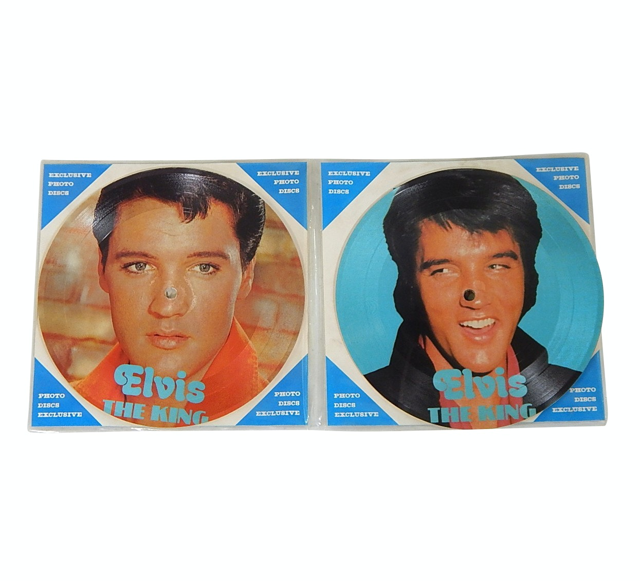 Elvis Presley One-Sided Picture Record Discs