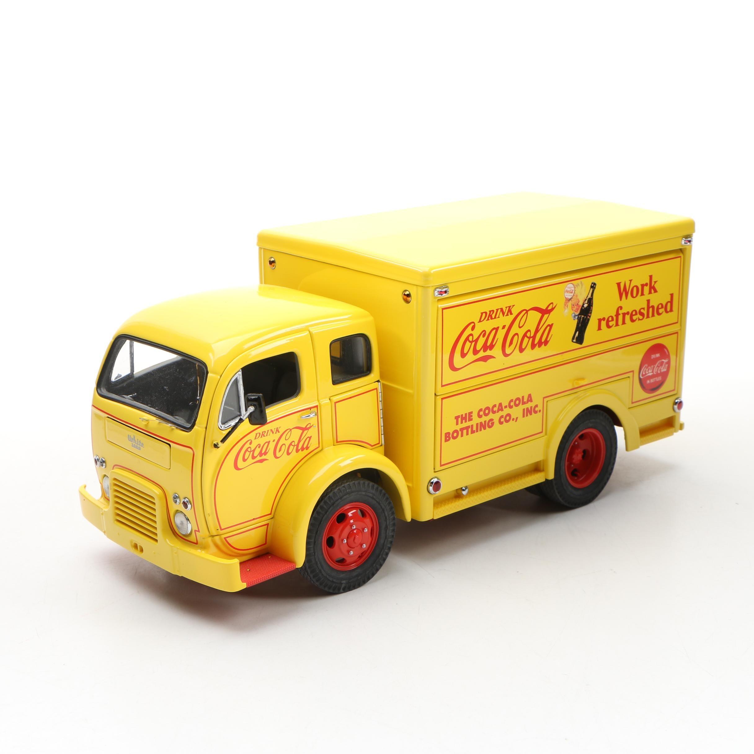 Danbury Mint Die-Cast 1955 Coca-Cola Delivery Truck