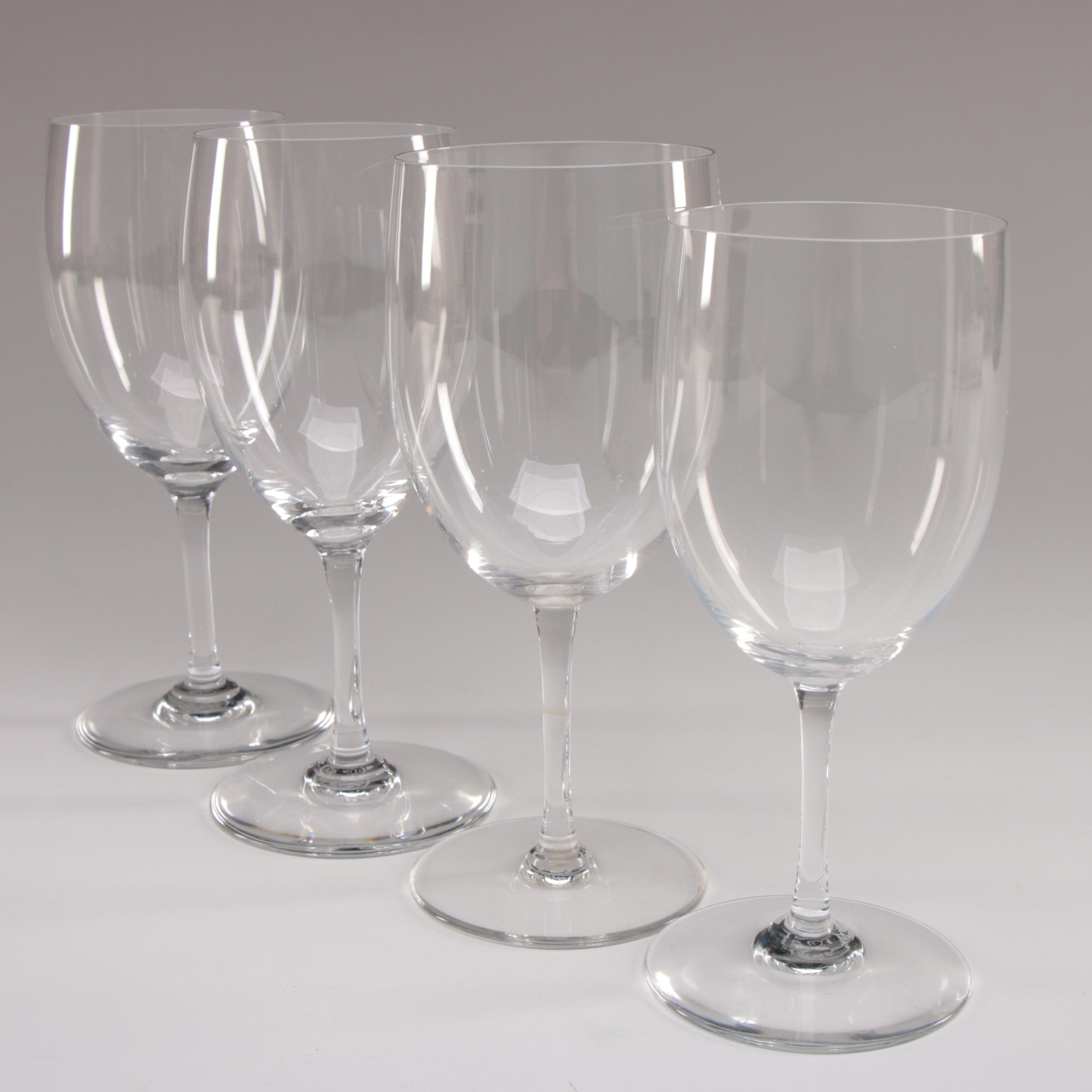 """Baccarat """"Perfection"""" Crystal Water Goblets"""