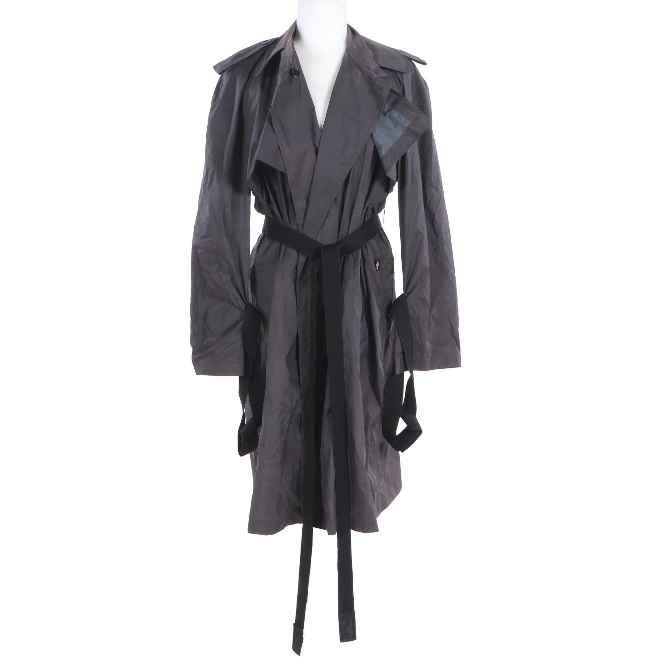 JPG. Jean's by Gaultier Raincoat with Tie Belt