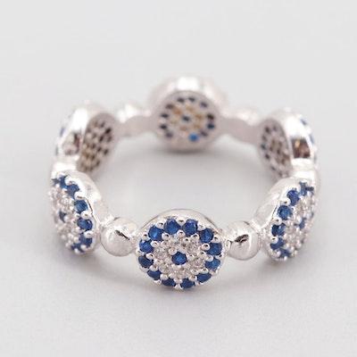 Sterling Silver Cubic Zirconia Ring : EBTH