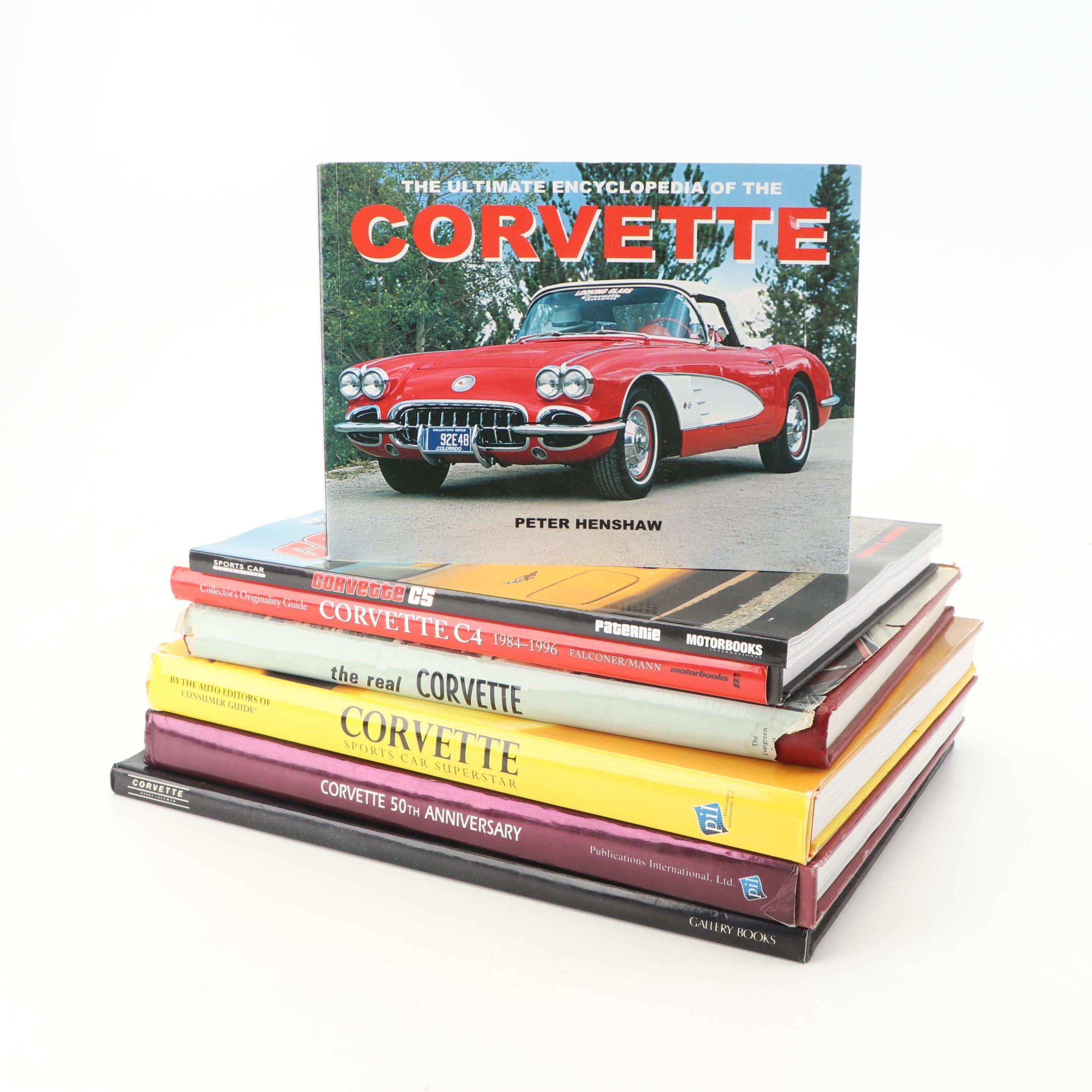 Corvette Themed Automobile Books