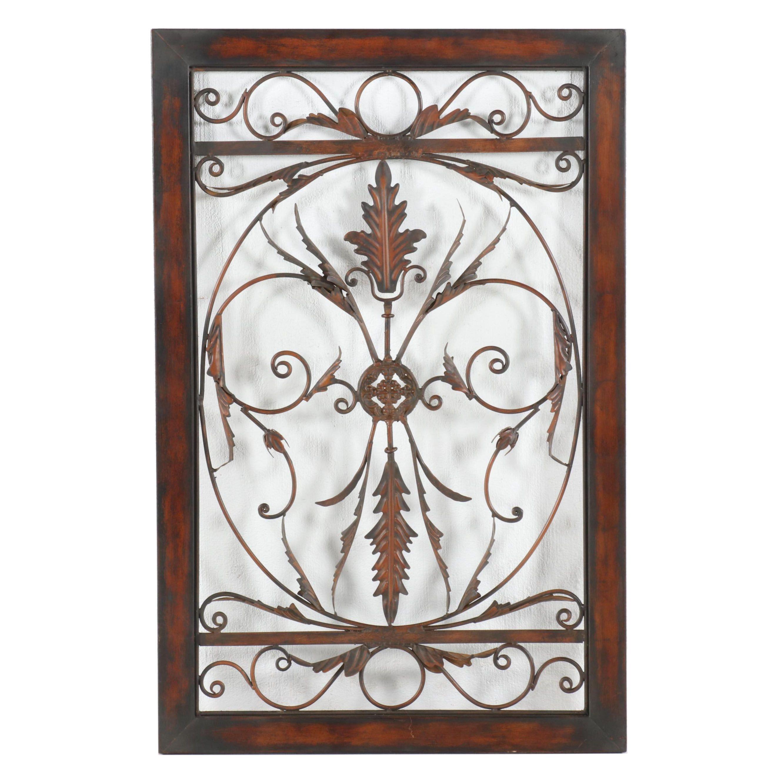 Openwork Metal Decorative Panel